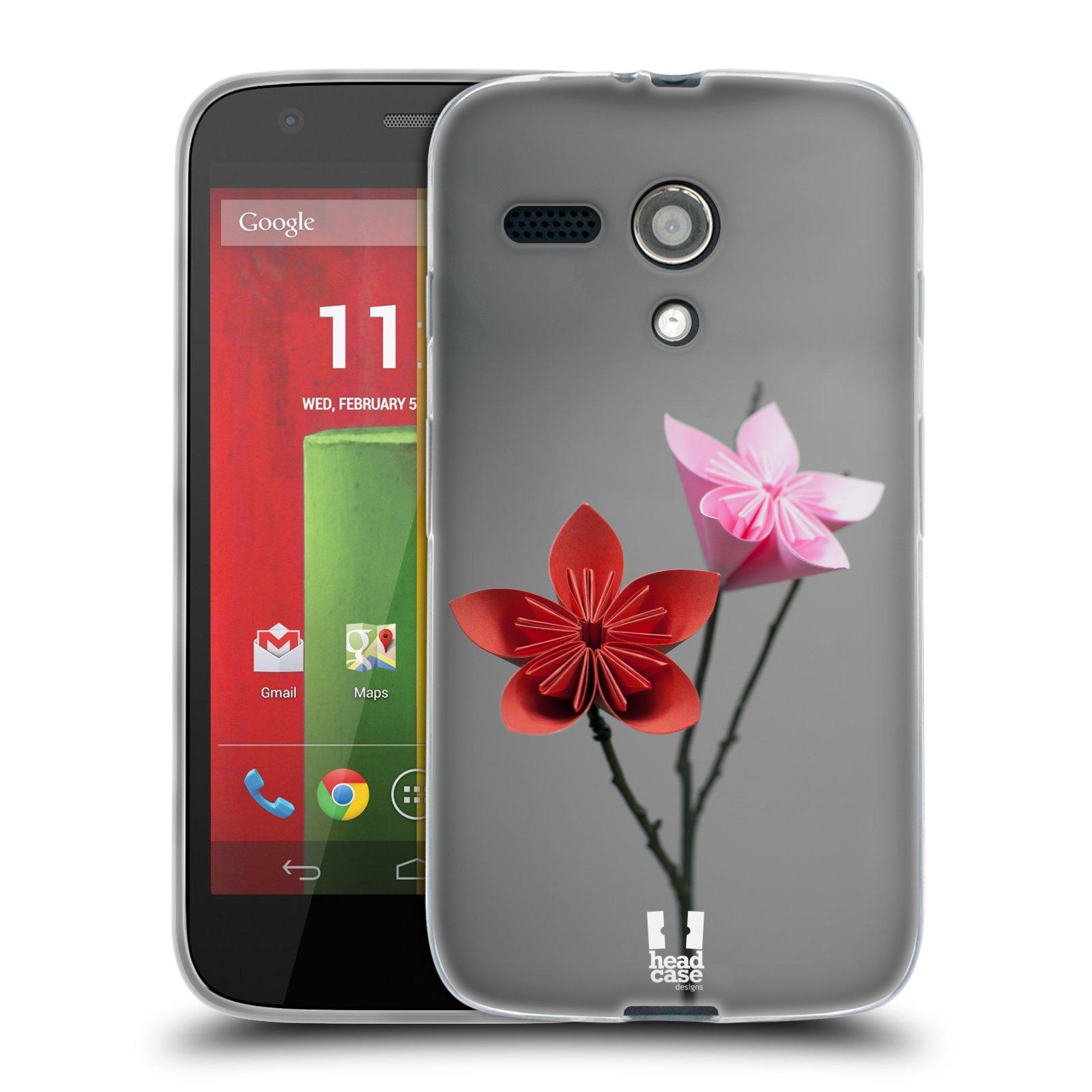 Silikonové pouzdro na mobil Motorola Moto G HEAD CASE KUSUDAMA (Silikonový kryt či obal na mobilní telefon Motorola Moto G)