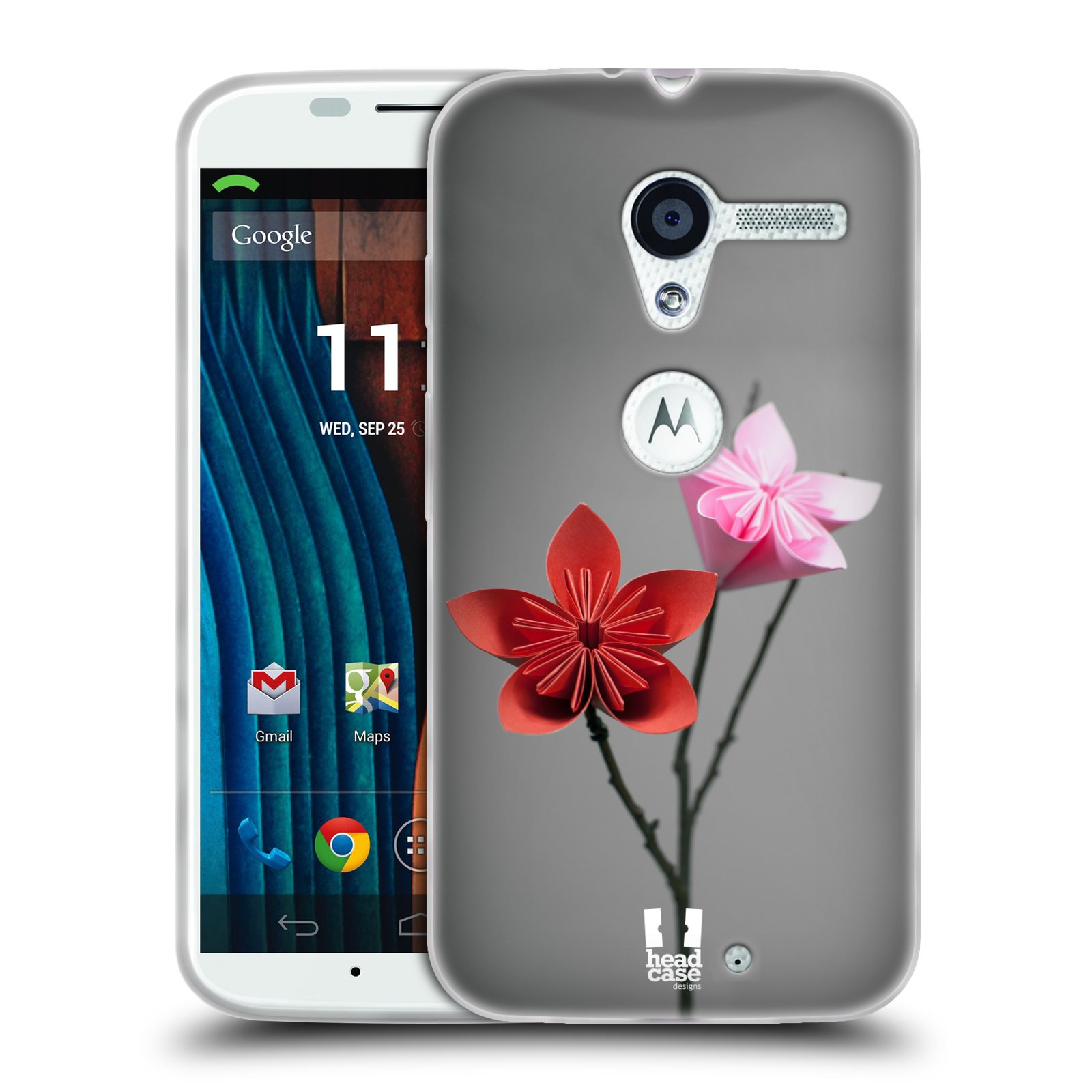 Silikonové pouzdro na mobil Motorola Moto X HEAD CASE KUSUDAMA (Silikonový kryt či obal na mobilní telefon Motorola Moto X)