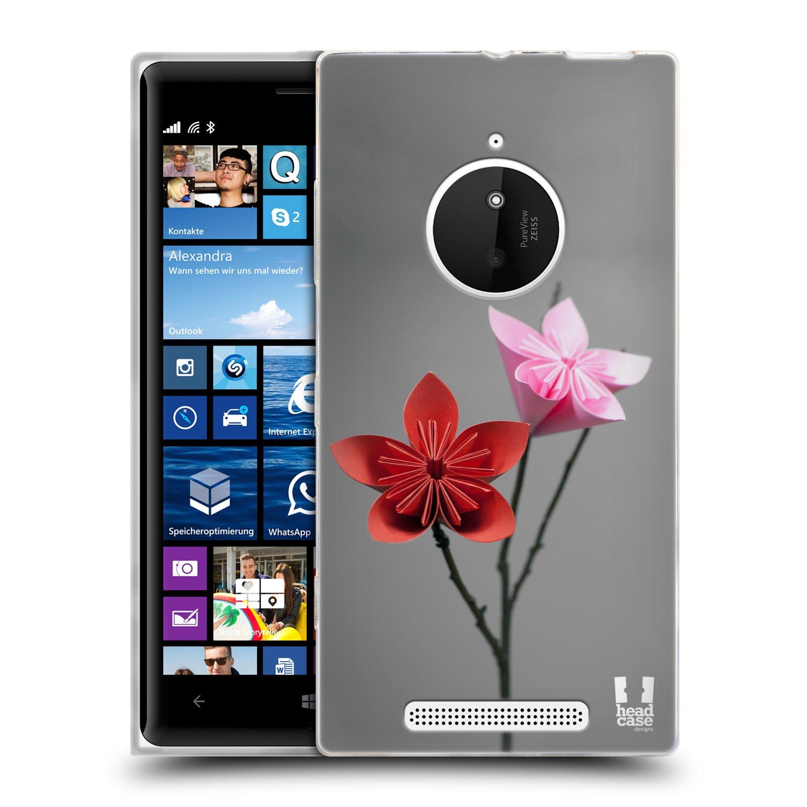 Silikonové pouzdro na mobil Nokia Lumia 830 HEAD CASE KUSUDAMA (Silikonový kryt či obal na mobilní telefon Nokia Lumia 830)