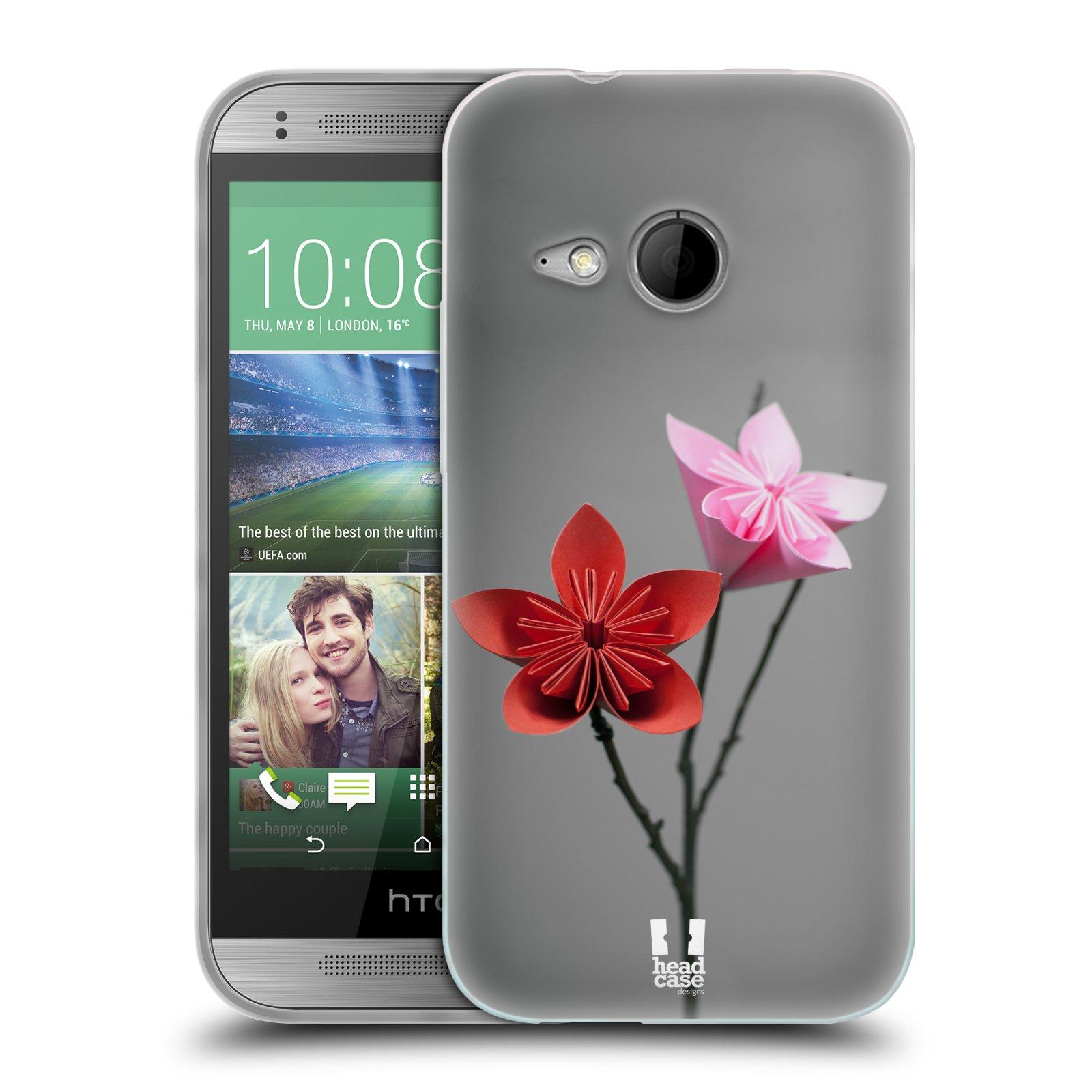 Silikonové pouzdro na mobil HTC ONE Mini 2 HEAD CASE KUSUDAMA (Silikonový kryt či obal na mobilní telefon HTC ONE Mini 2)
