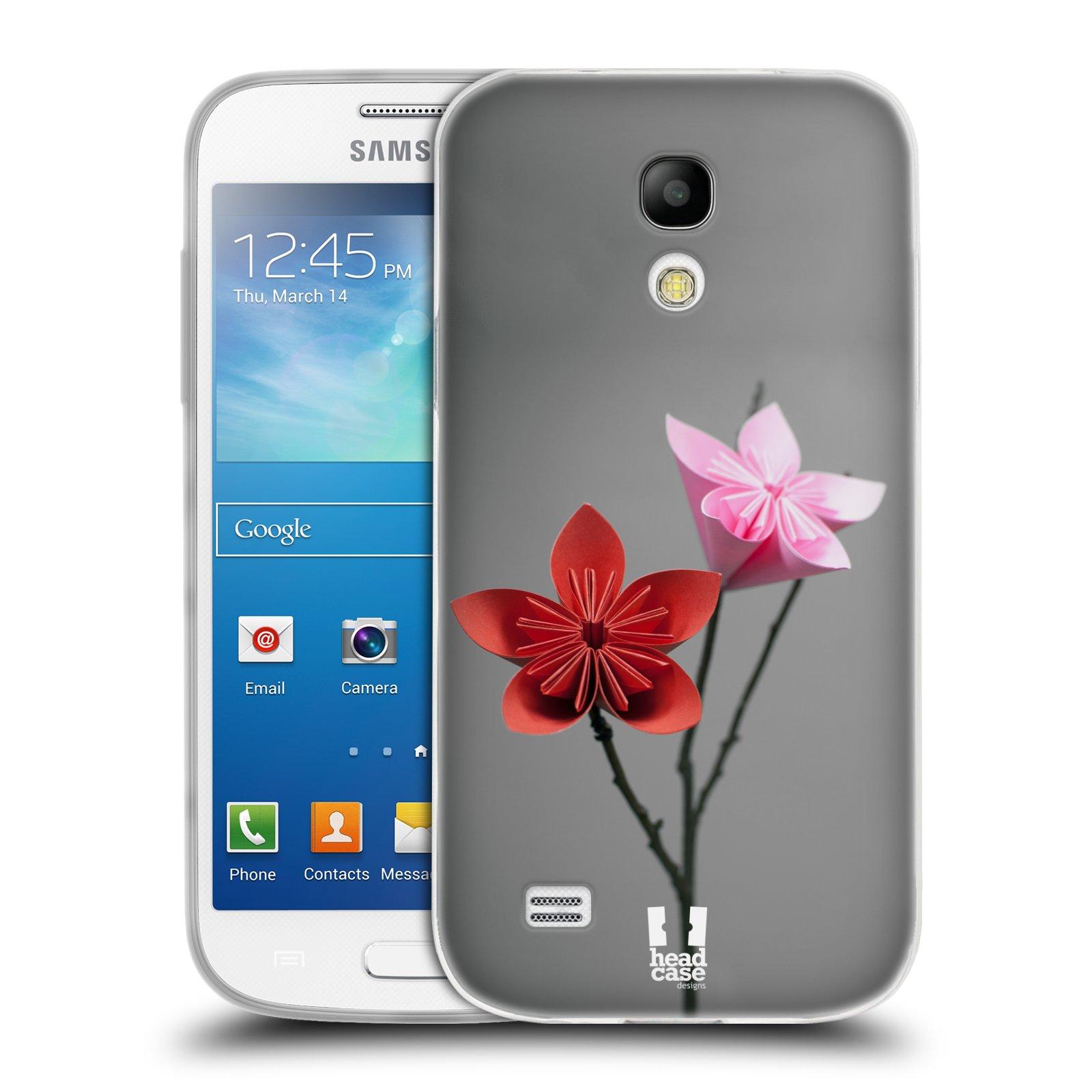 Silikonové pouzdro na mobil Samsung Galaxy S4 Mini HEAD CASE KUSUDAMA (Silikonový kryt či obal na mobilní telefon Samsung Galaxy S4 Mini GT-i9195 / i9190 (nepasuje na verzi Black Edition))