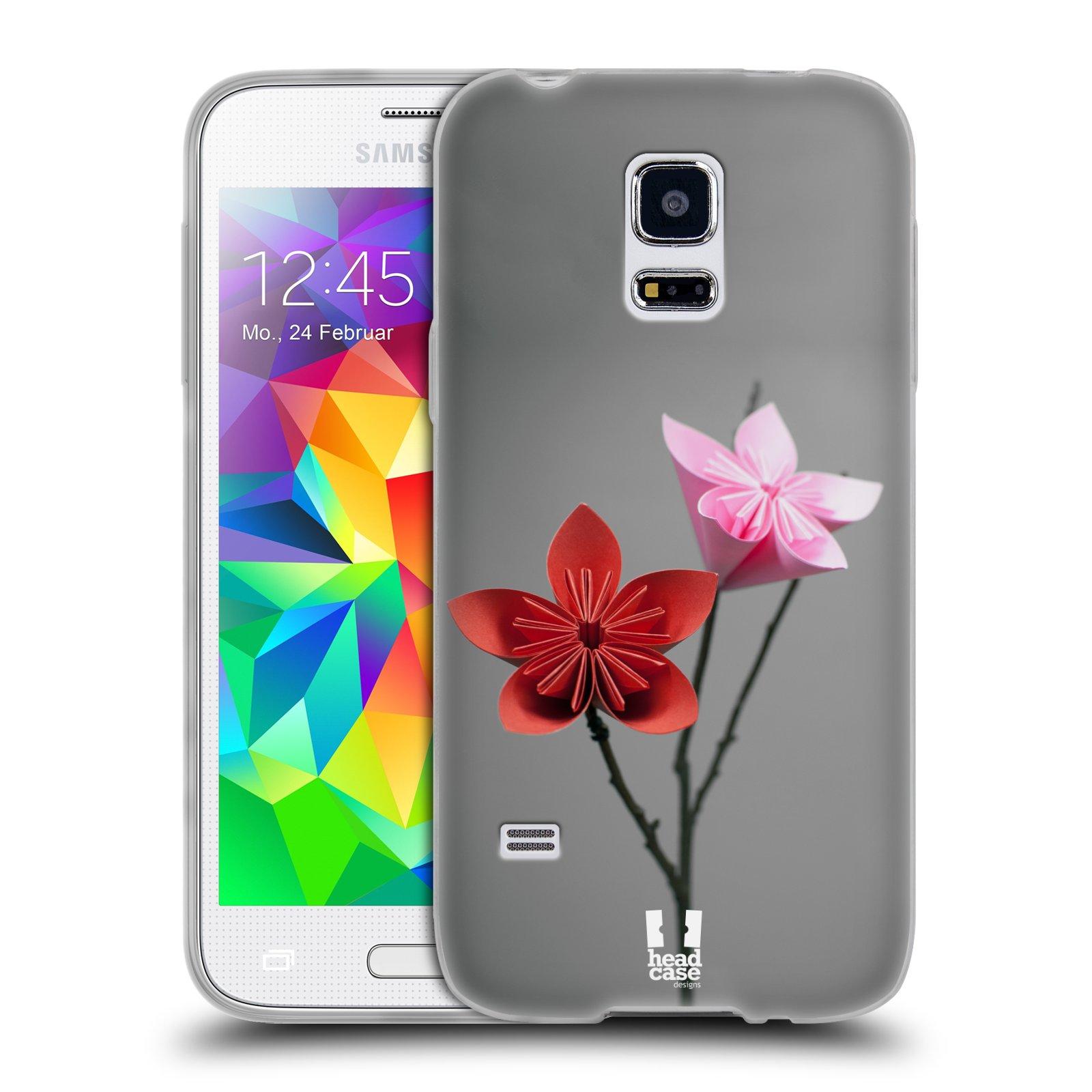 Silikonové pouzdro na mobil Samsung Galaxy S5 Mini HEAD CASE KUSUDAMA (Silikonový kryt či obal na mobilní telefon Samsung Galaxy S5 Mini SM-G800F)