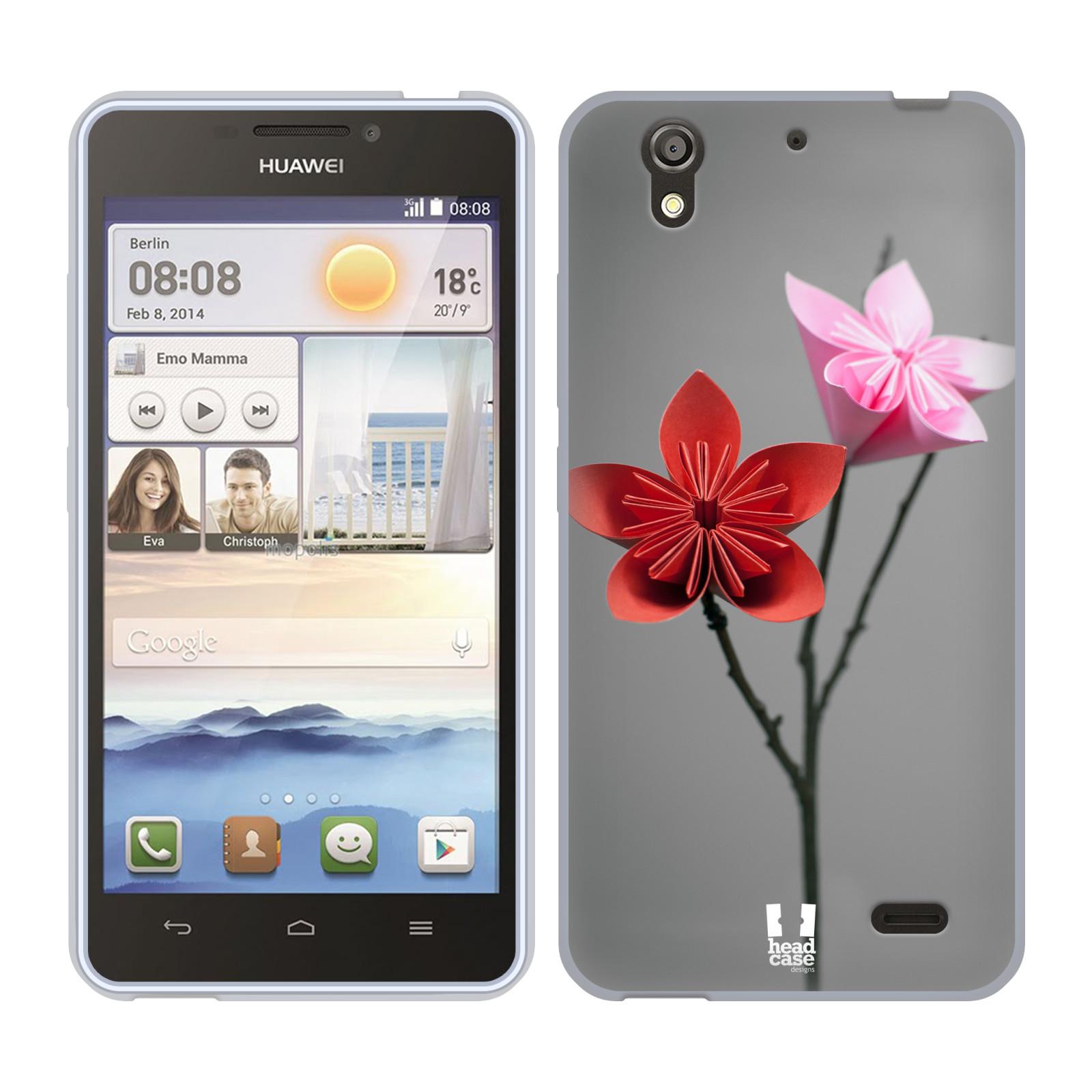 Silikonové pouzdro na mobil Huawei Ascend Y530 HEAD CASE KUSUDAMA (Silikonový kryt či obal na mobilní telefon Huawei Ascend Y530)