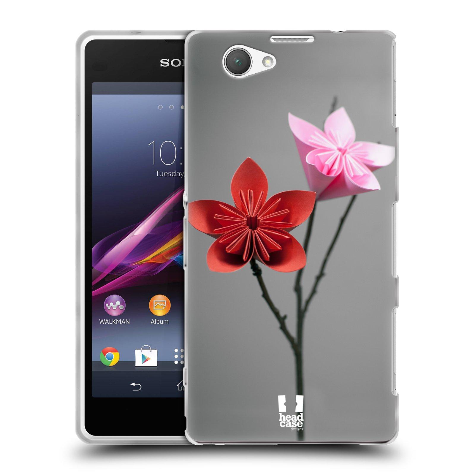 Silikonové pouzdro na mobil Sony Xperia Z1 Compact D5503 HEAD CASE KUSUDAMA (Silikonový kryt či obal na mobilní telefon Sony Xperia Z1 Compact)