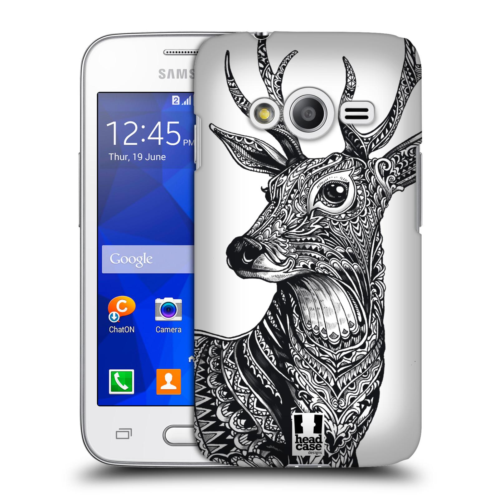 Plastové pouzdro na mobil Samsung Galaxy Trend 2 Lite HEAD CASE Zdobený Jelínek (Plastový kryt či obal na mobilní telefon Samsung Galaxy Trend 2 Lite SM-G318)