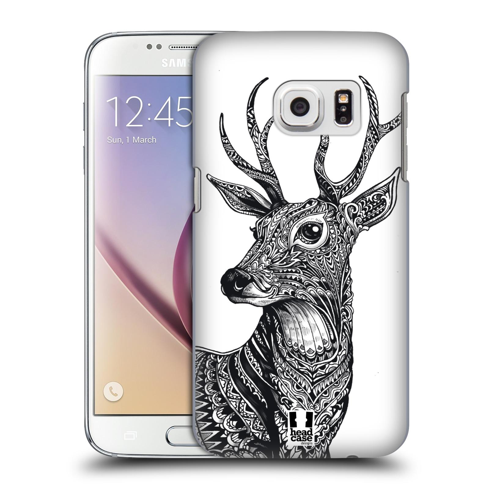 Plastové pouzdro na mobil Samsung Galaxy S7 HEAD CASE Zdobený Jelínek (Plastový kryt či obal na mobilní telefon Samsung Galaxy S7 SM-G930F)