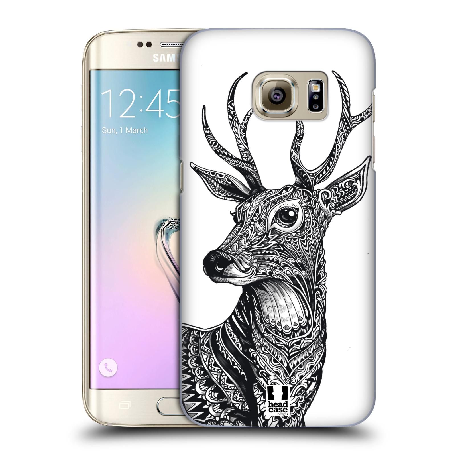 Plastové pouzdro na mobil Samsung Galaxy S7 Edge HEAD CASE Zdobený Jelínek (Plastový kryt či obal na mobilní telefon Samsung Galaxy S7 Edge SM-G935F)
