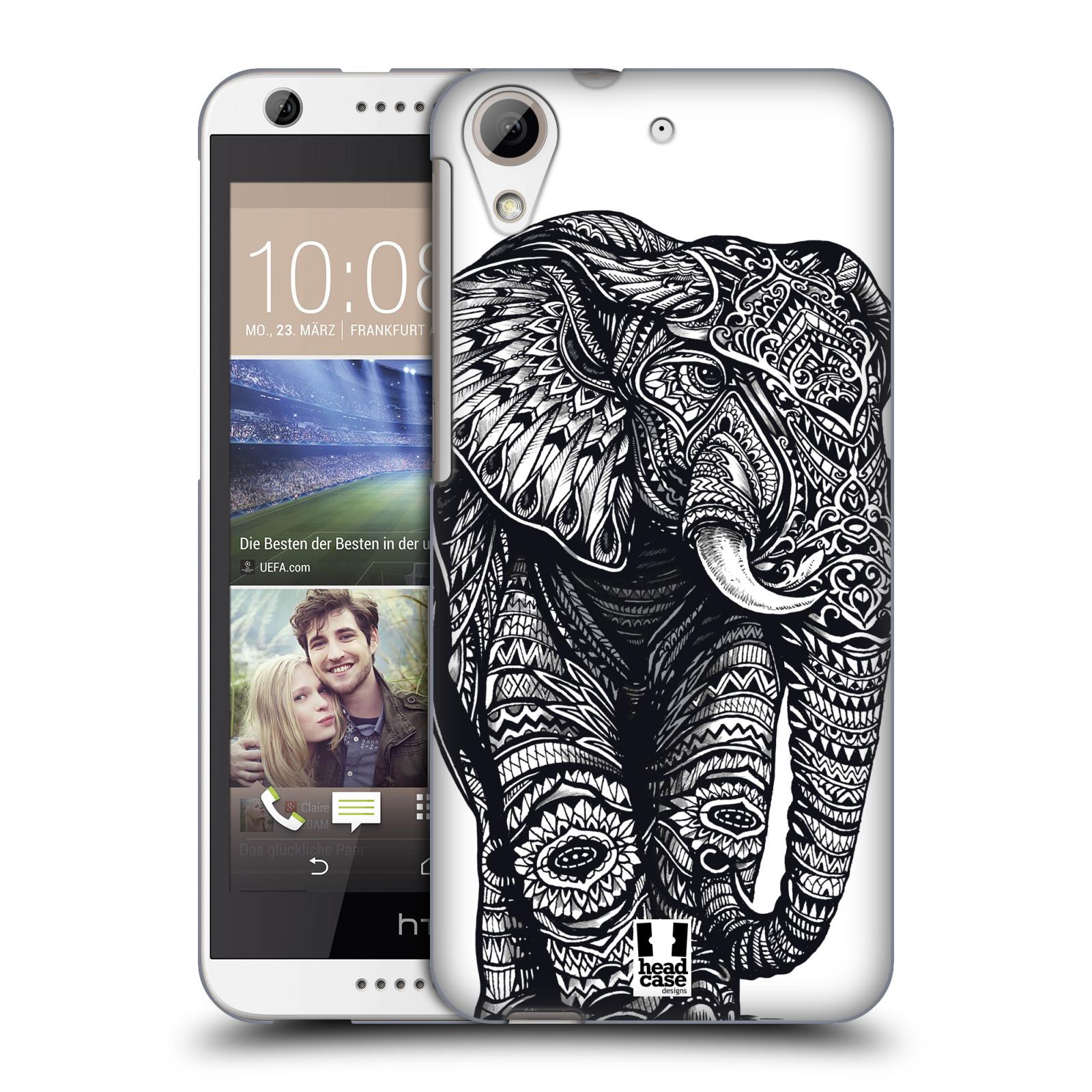 Plastové pouzdro na mobil HTC Desire 626 / 626G HEAD CASE Zdobený Slon (Plastový kryt či obal na mobilní telefon HTC Desire 626G Dual SIM a HTC Desire 626)