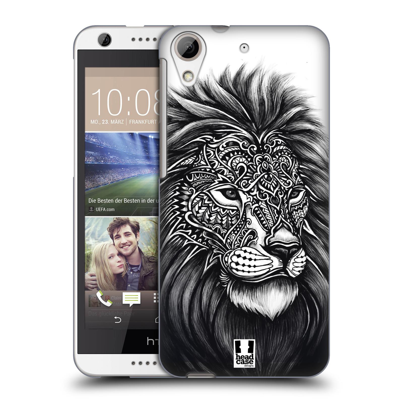 Plastové pouzdro na mobil HTC Desire 626 / 626G HEAD CASE Zdobený Lev (Plastový kryt či obal na mobilní telefon HTC Desire 626G Dual SIM a HTC Desire 626)