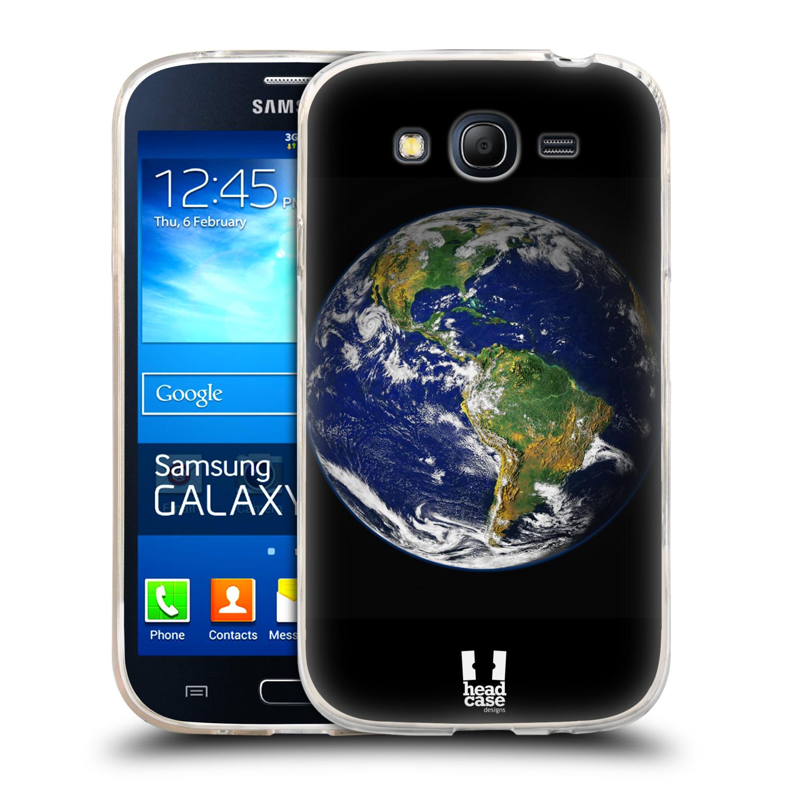 Silikonové pouzdro na mobil Samsung Galaxy Grand Neo Plus HEAD CASE ZEMĚ (Silikonový kryt či obal na mobilní telefon Samsung Galaxy Grand Neo Plus Duos GT-I9060i)
