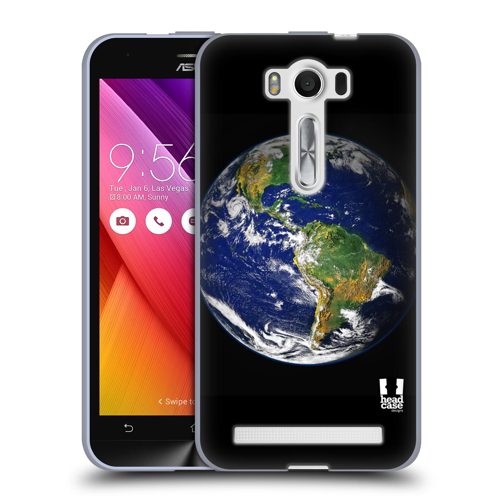 """Silikonové pouzdro na mobil Asus ZenFone 2 Laser ZE500KL HEAD CASE ZEMĚ (Silikonový kryt či obal na mobilní telefon Asus ZenFone 2 Laser ZE500KL s 5"""" displejem)"""