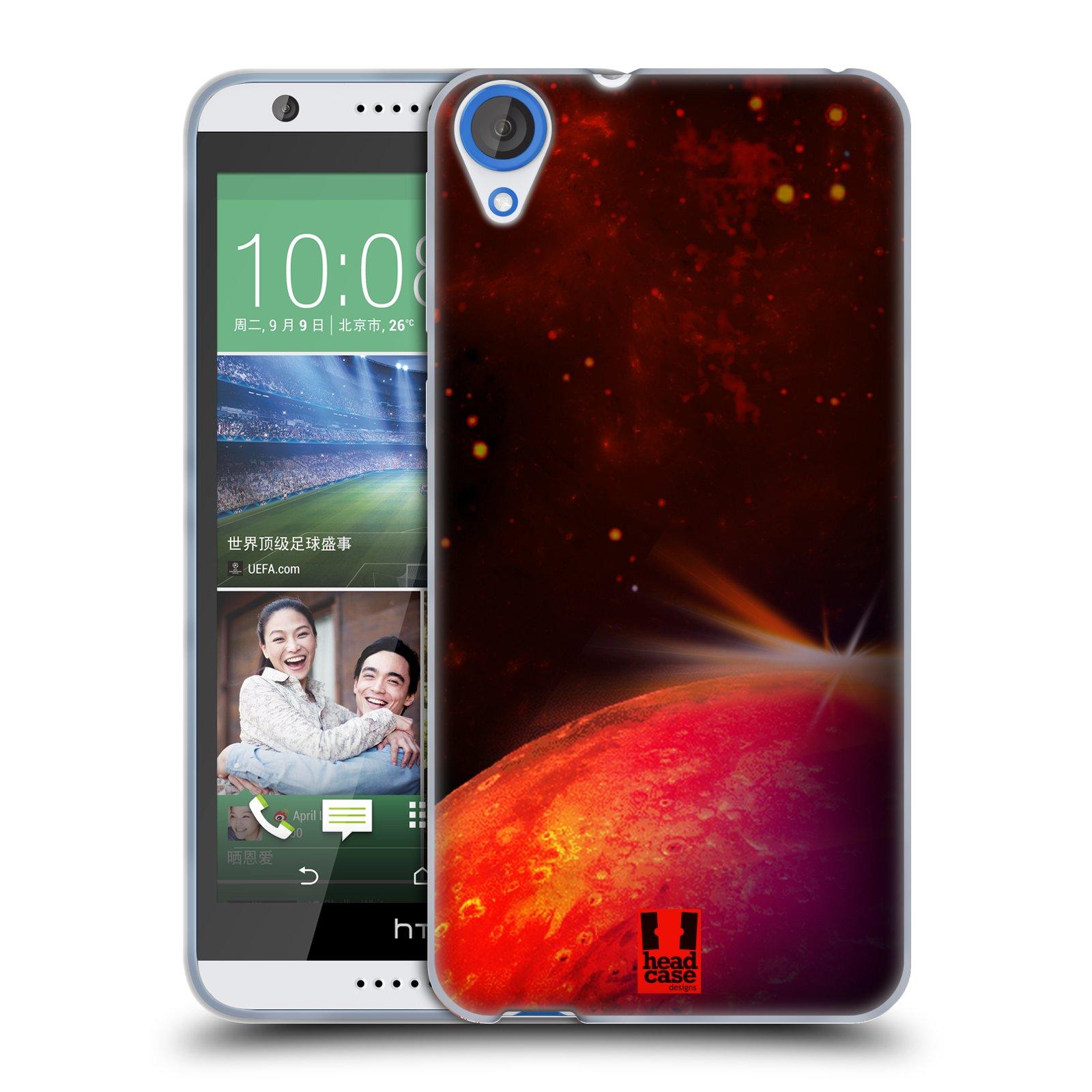 Silikonové pouzdro na mobil HTC Desire 820 HEAD CASE MARS (Silikonový kryt či obal na mobilní telefon HTC Desire 820)