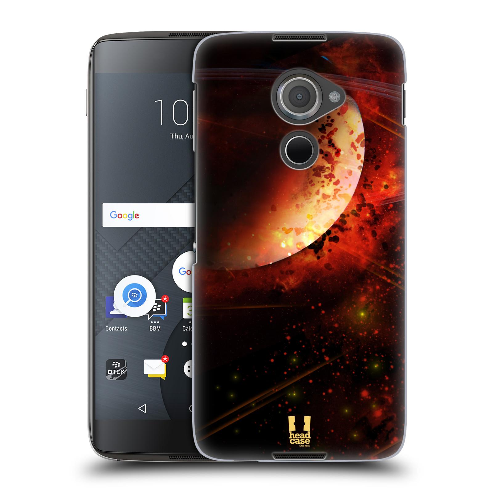 Plastové pouzdro na mobil Blackberry DTEK60 (Argon) - Head Case SATURN (Plastový kryt či obal na mobilní telefon Blackberry DTEK60 (Argon))