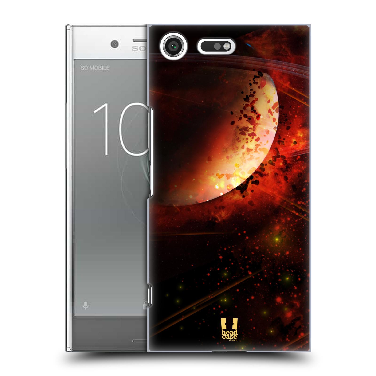 Plastové pouzdro na mobil Sony Xperia XZ Premium Head Case - SATURN (Plastový kryt či obal na mobilní telefon Sony Xperia XZ Premium G8142)