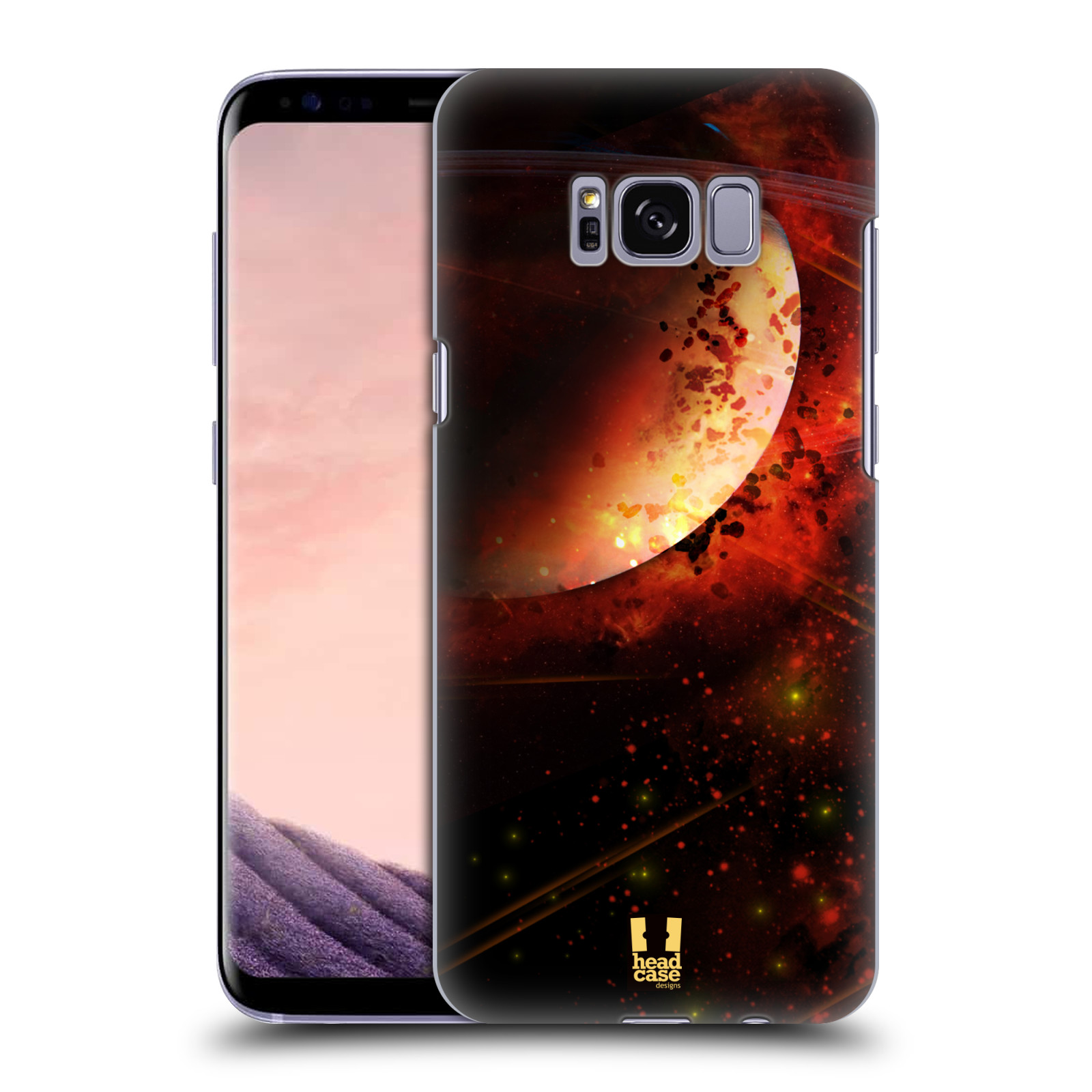 Plastové pouzdro na mobil Samsung Galaxy S8 Head Case SATURN