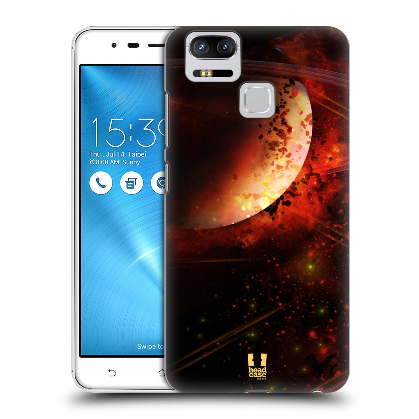 Plastové pouzdro na mobil Asus ZenFone 3 ZOOM ZE553KL - Head Case - SATURN (Plastový kryt či obal na mobilní telefon Asus ZenFone 3 ZOOM ZE553KL s motivem SATURN)