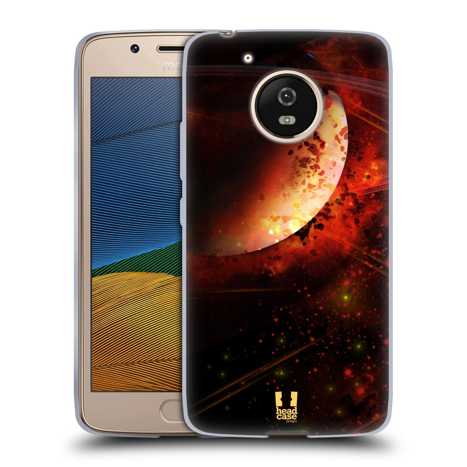 Silikonové pouzdro na mobil Lenovo Moto G5 - Head Case SATURN (Silikonový kryt či obal na mobilní telefon Lenovo Moto G5)