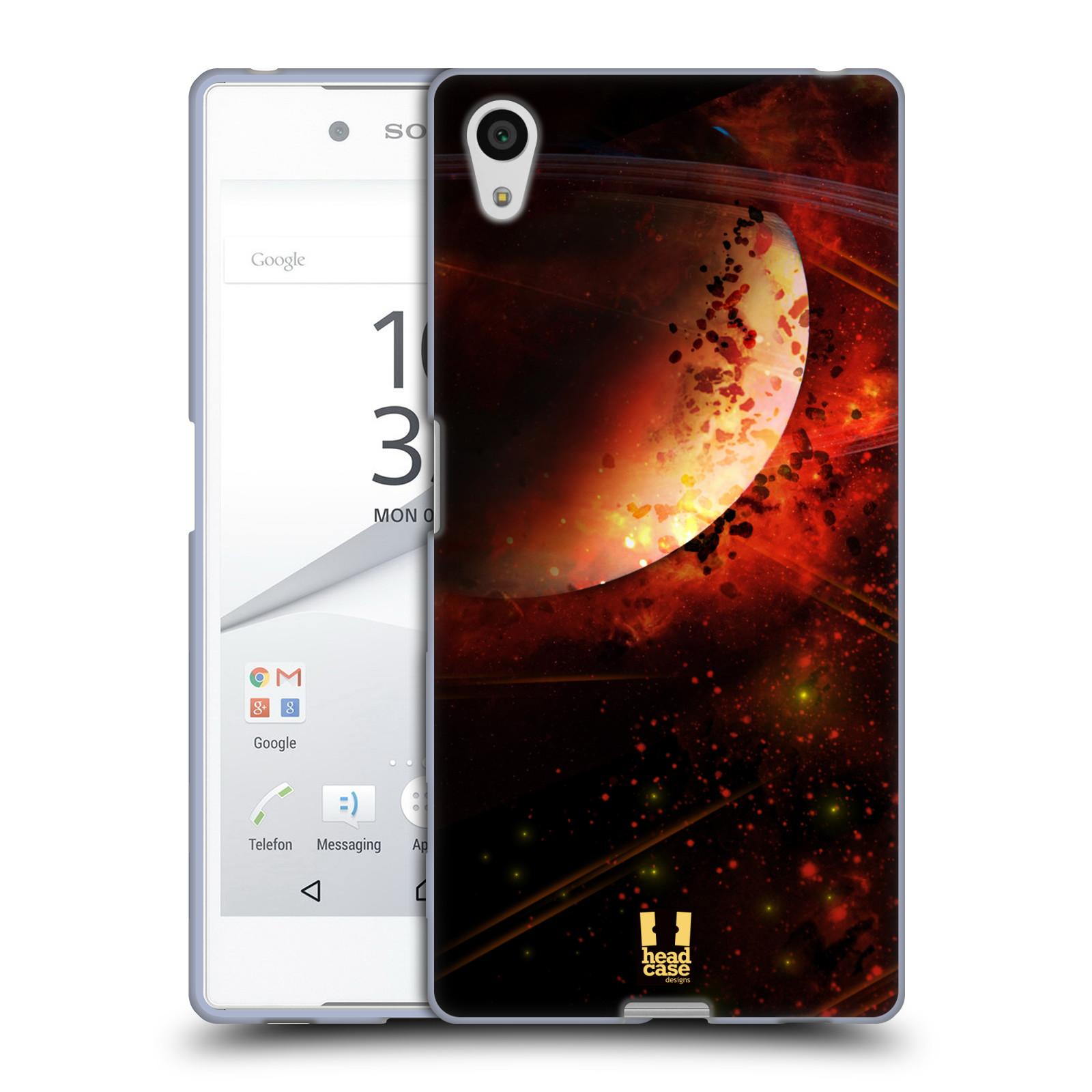 Silikonové pouzdro na mobil Sony Xperia Z5 HEAD CASE SATURN