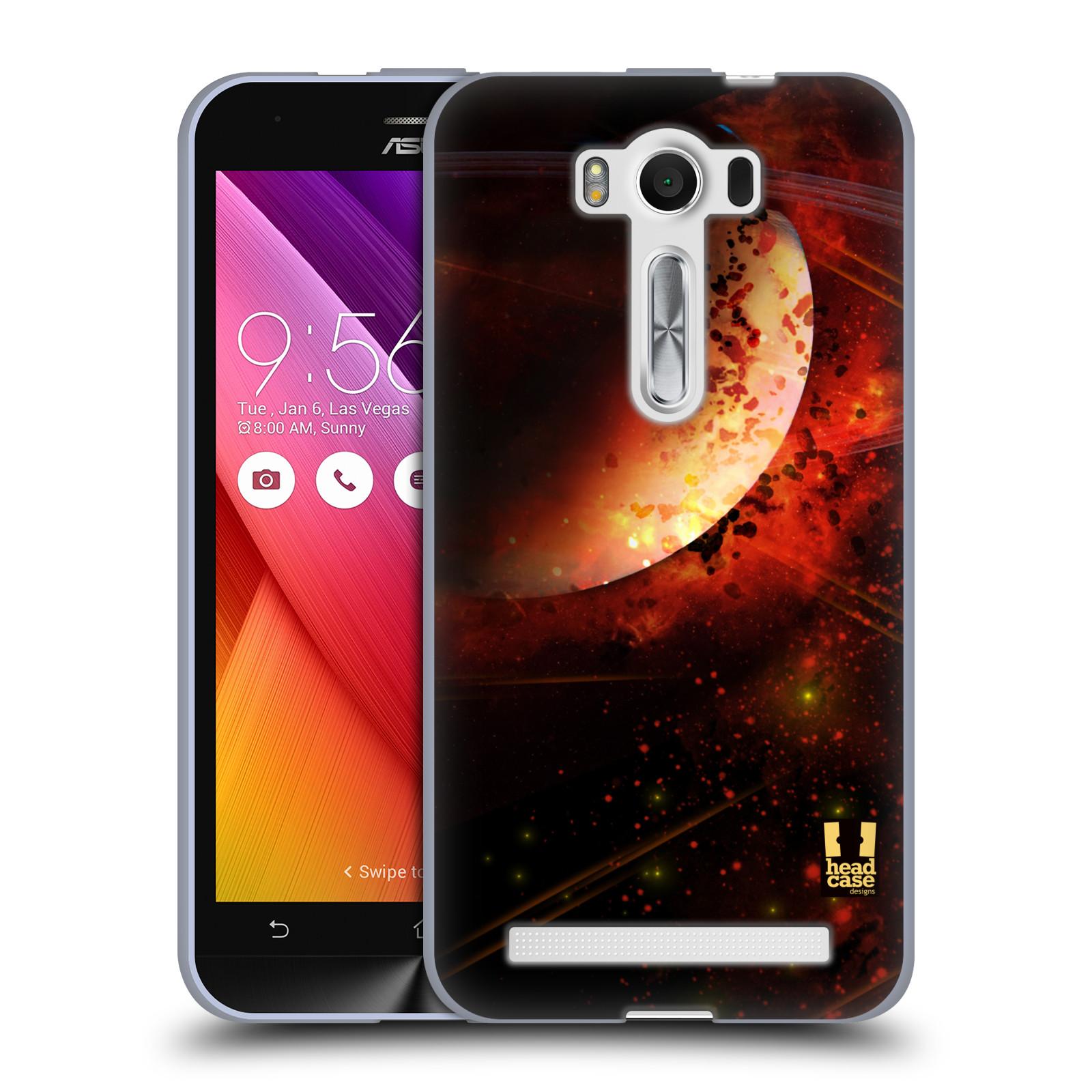 "Silikonové pouzdro na mobil Asus ZenFone 2 Laser ZE500KL HEAD CASE SATURN (Silikonový kryt či obal na mobilní telefon Asus ZenFone 2 Laser ZE500KL s 5"" displejem)"
