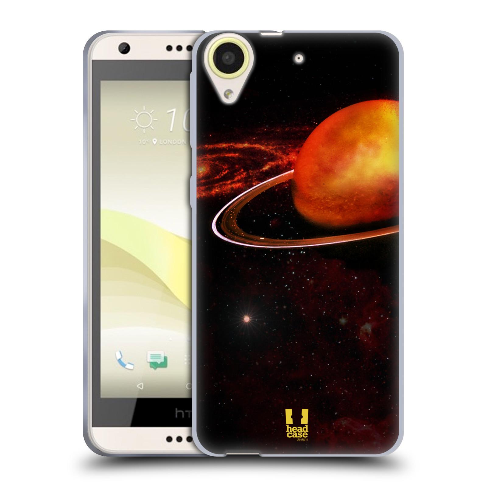 Silikonové pouzdro na mobil HTC Desire 650 HEAD CASE URAN (Silikonový kryt či obal na mobilní telefon HTC Desire 650)