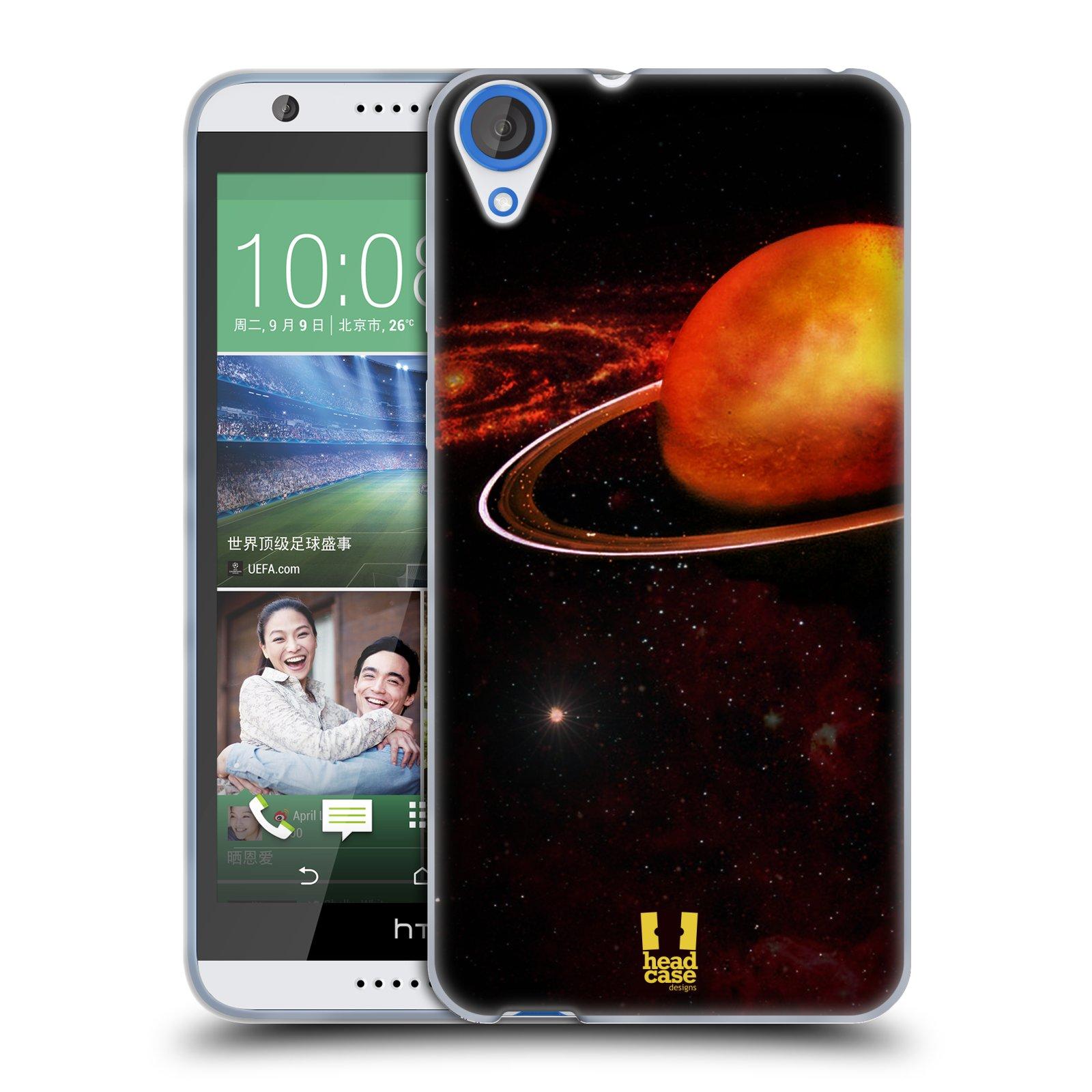 Silikonové pouzdro na mobil HTC Desire 820 HEAD CASE URAN (Silikonový kryt či obal na mobilní telefon HTC Desire 820)
