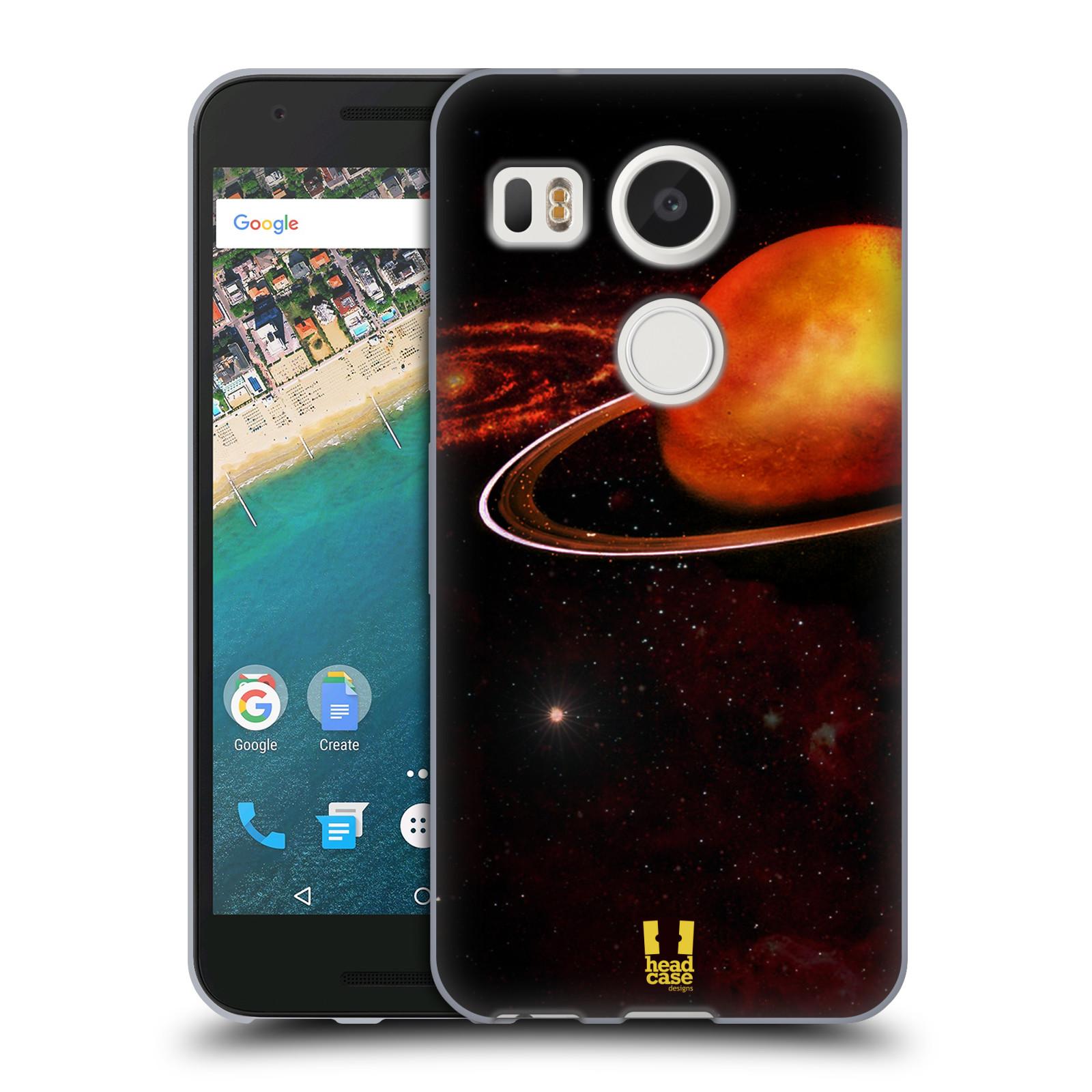 Silikonové pouzdro na mobil LG Nexus 5X - Head Case - URAN (Silikonový kryt či obal na mobilní telefon LG Nexus 5X)