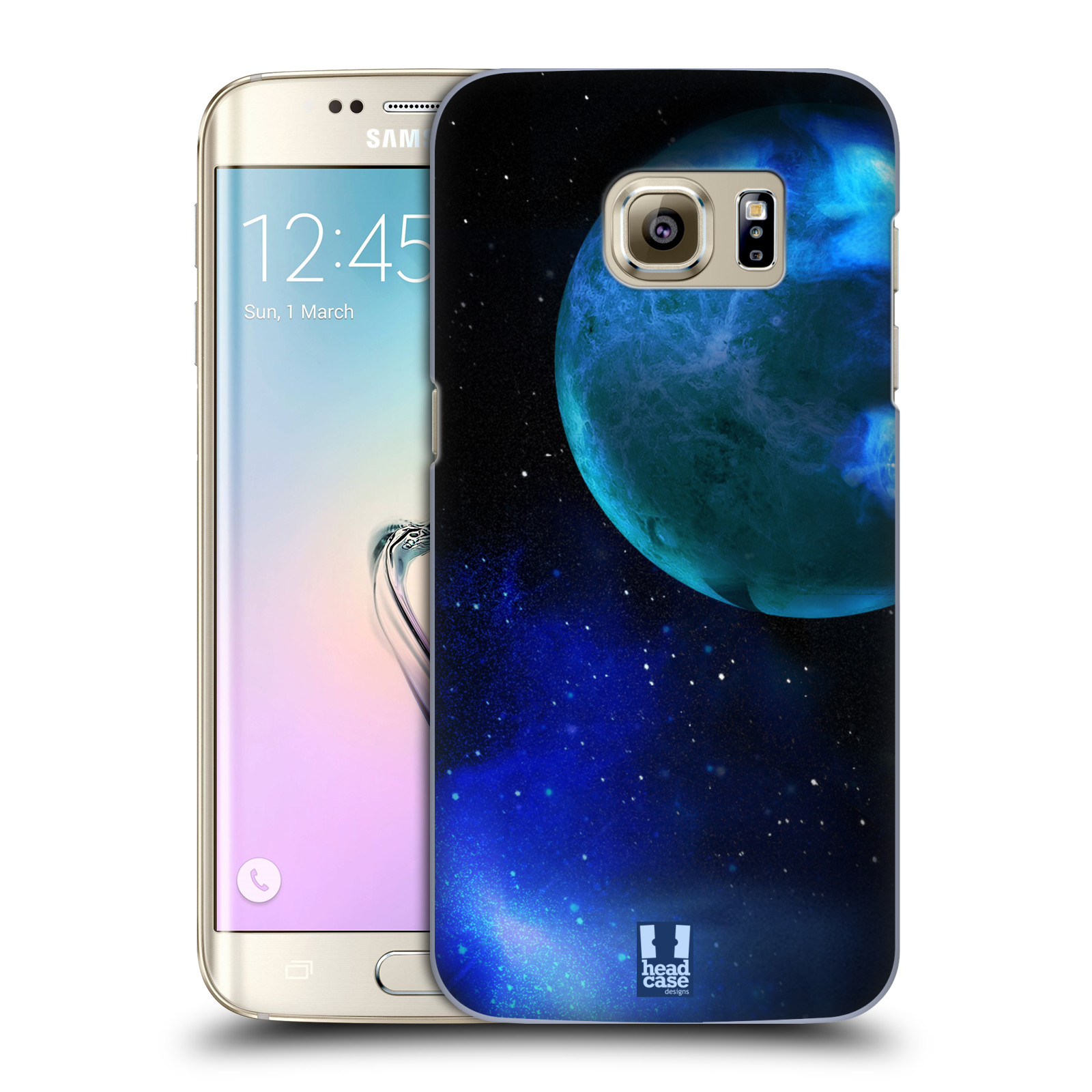 Plastové pouzdro na mobil Samsung Galaxy S7 Edge HEAD CASE VENUŠE (Kryt či obal na mobilní telefon Samsung Galaxy S7 Edge SM-G935F)