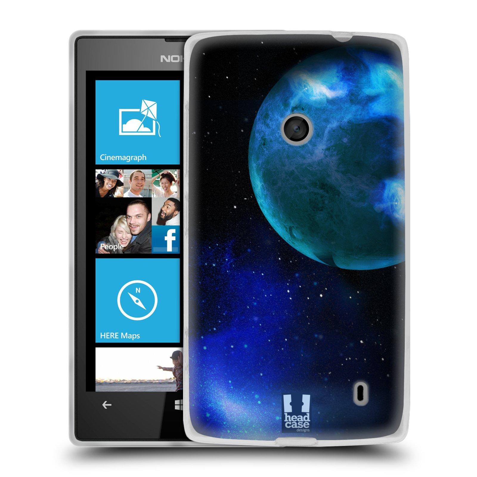 Silikonové pouzdro na mobil Nokia Lumia 520 HEAD CASE VENUŠE (Silikonový Kryt či obal na mobilní telefon Nokia Lumia 520)