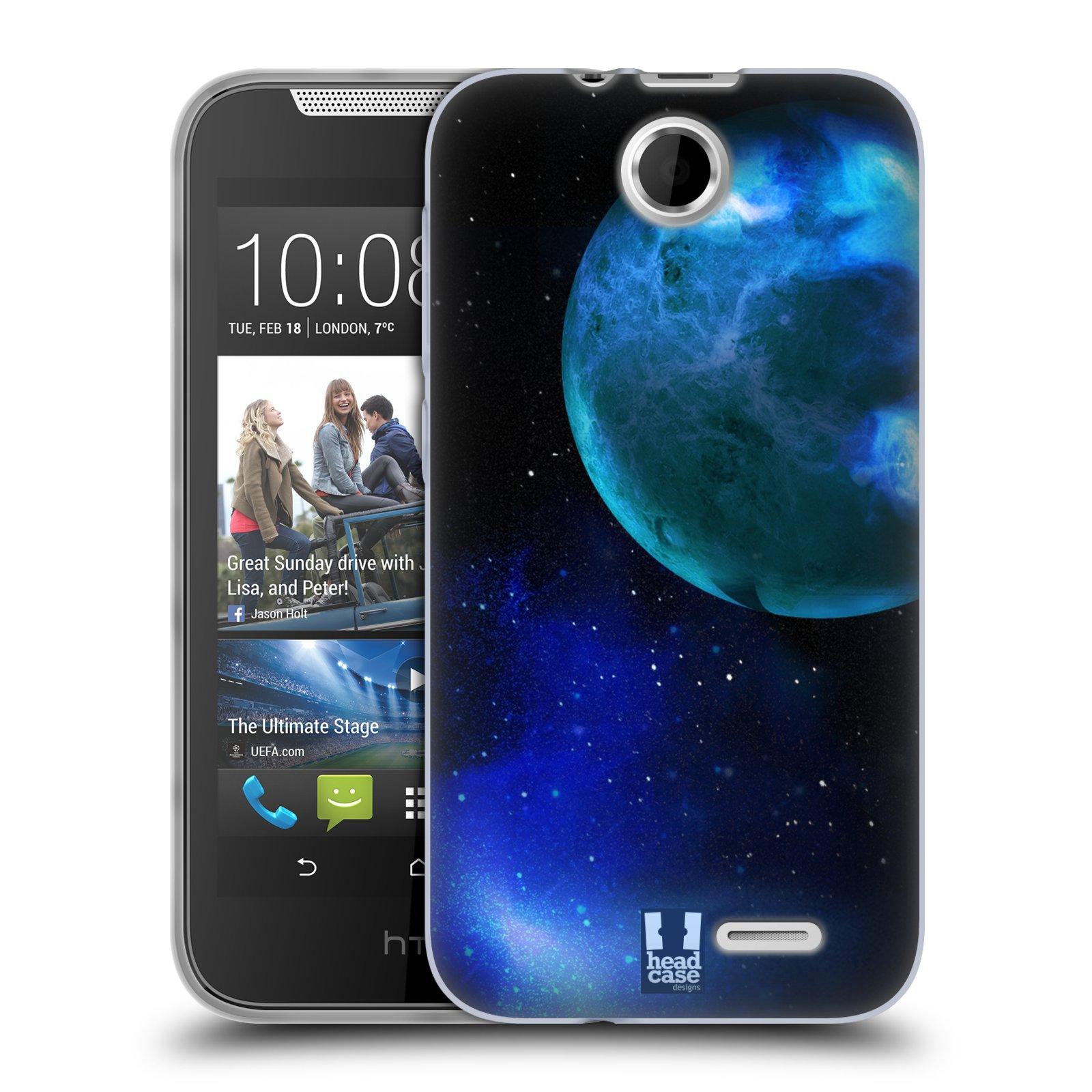 Silikonové pouzdro na mobil HTC Desire 310 HEAD CASE VENUŠE (Silikonový kryt či obal na mobilní telefon HTC Desire 310)