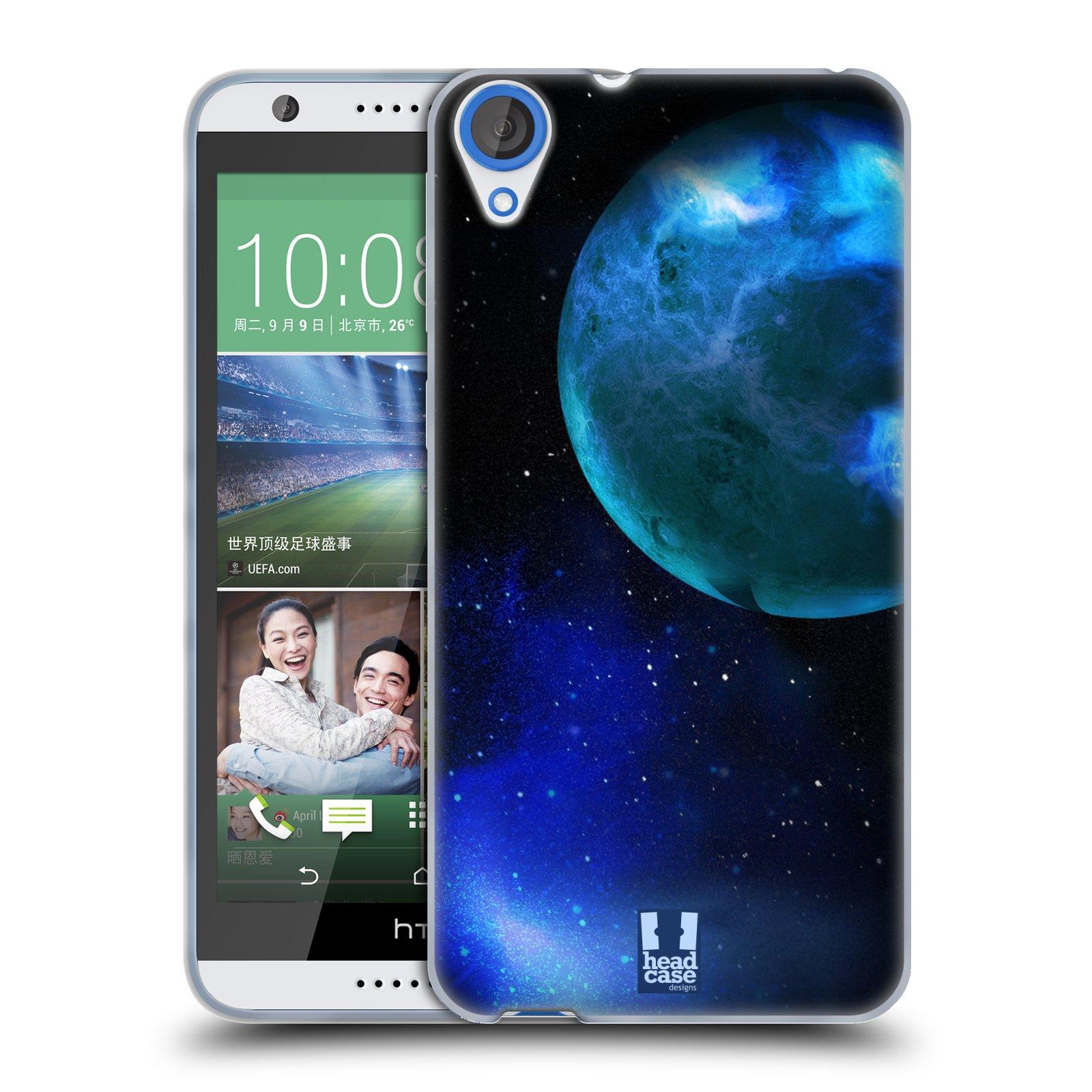 Silikonové pouzdro na mobil HTC Desire 820 HEAD CASE VENUŠE (Silikonový kryt či obal na mobilní telefon HTC Desire 820)