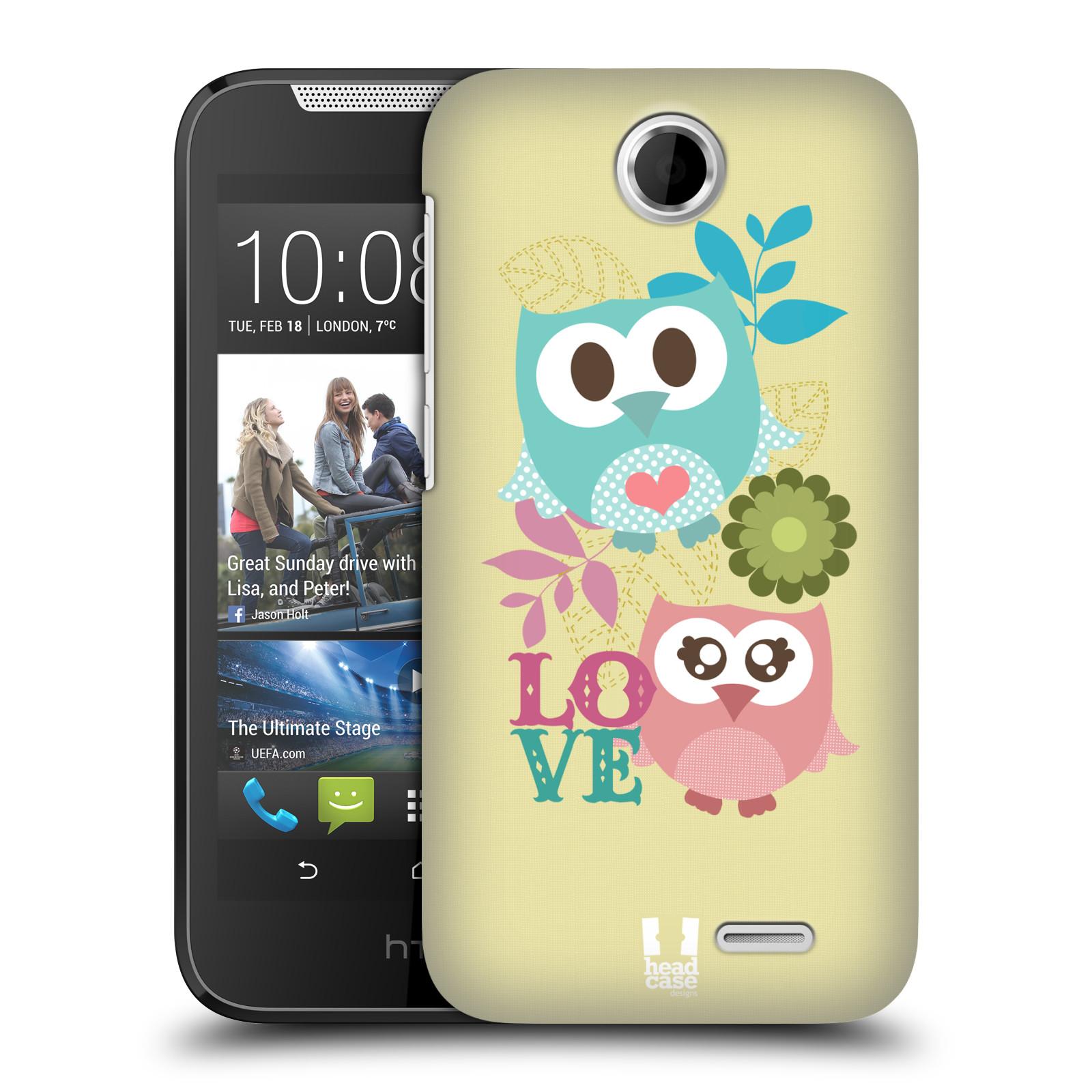 Plastové pouzdro na mobil HTC Desire 310 HEAD CASE SOVIČKY LOVE (Kryt či obal na mobilní telefon HTC Desire 310)