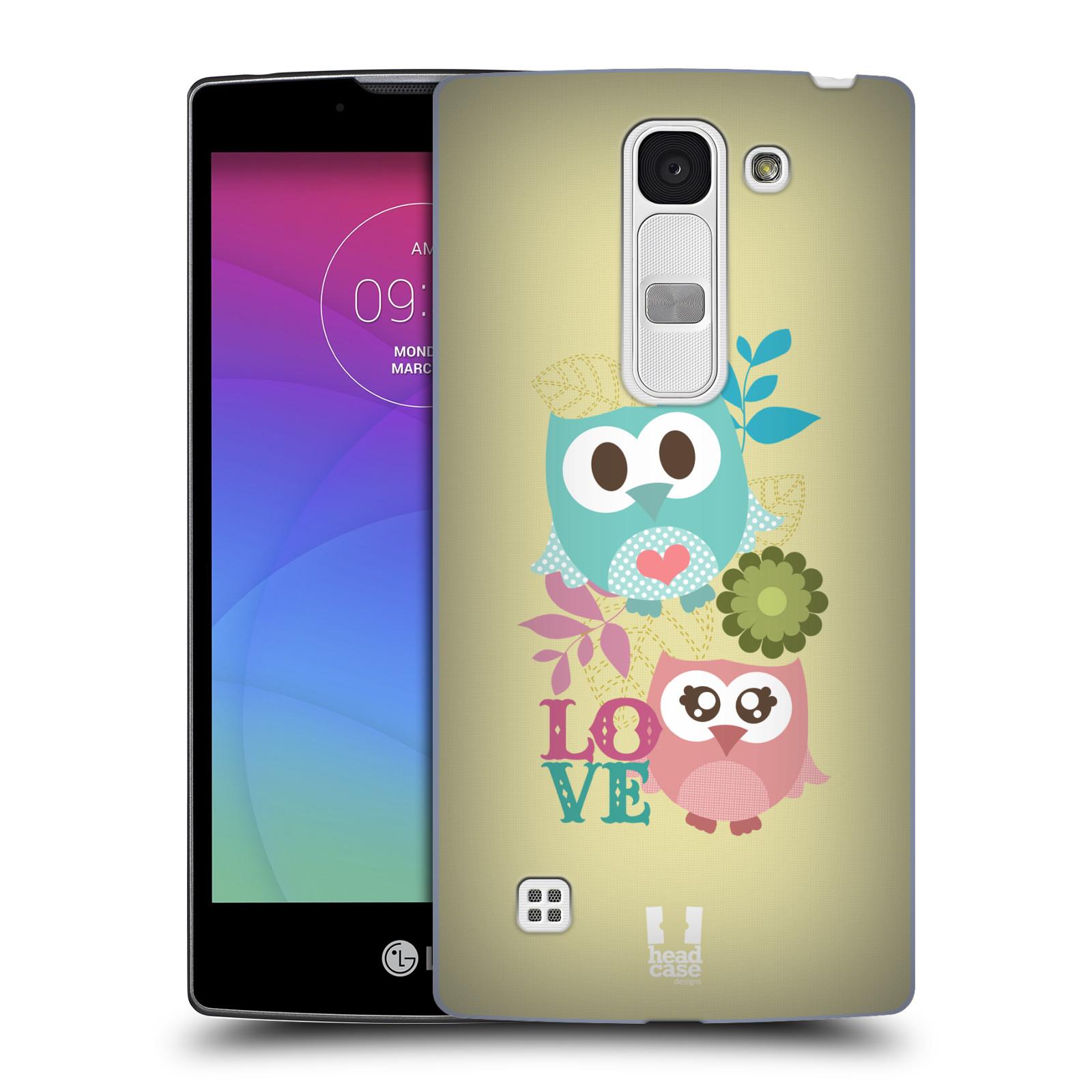 Plastové pouzdro na mobil LG Spirit LTE HEAD CASE SOVIČKY LOVE (Kryt či obal na mobilní telefon LG Spirit H420 a LG Spirit LTE H440N)
