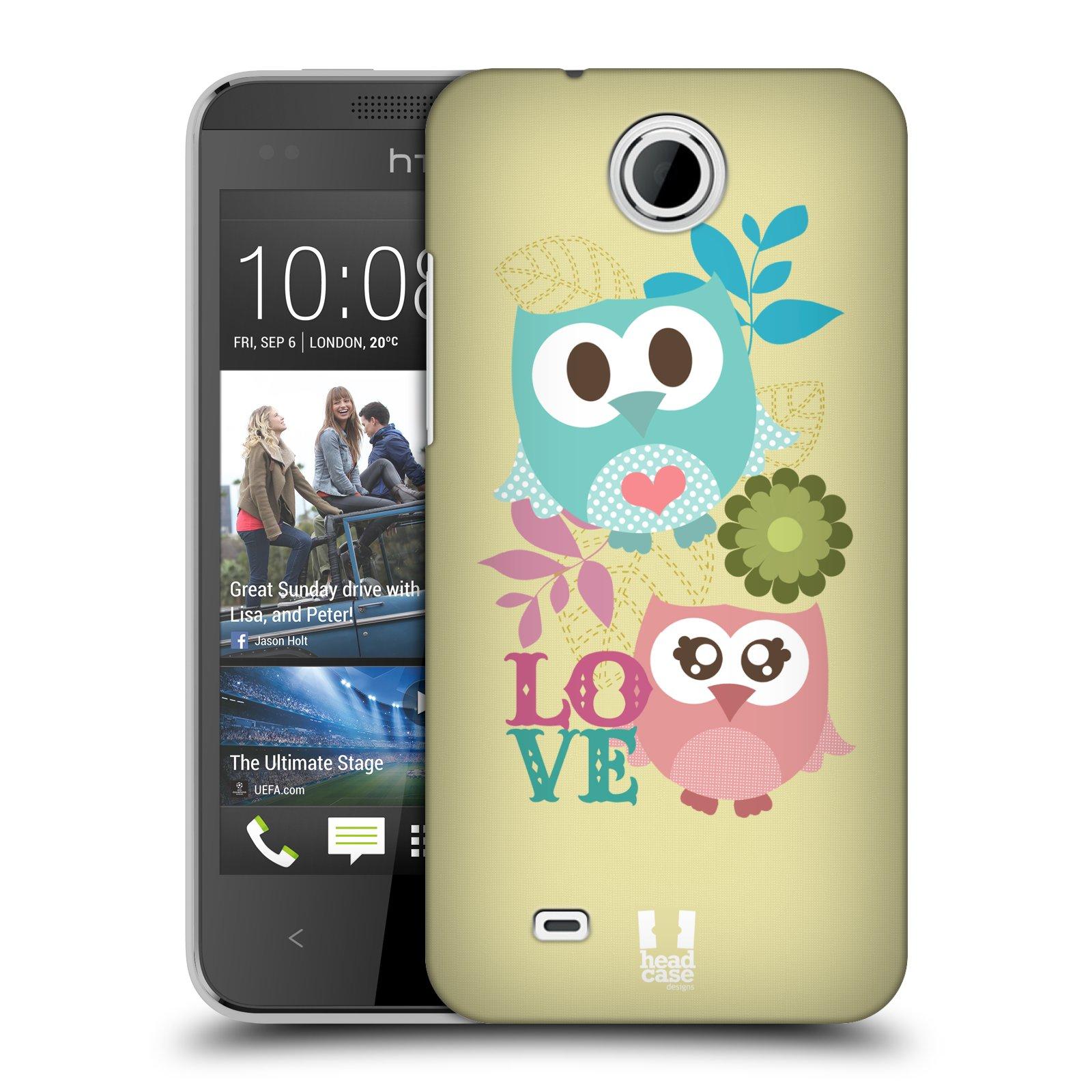 Plastové pouzdro na mobil HTC Desire 300 HEAD CASE SOVIČKY LOVE (Kryt či obal na mobilní telefon HTC Desire 300)