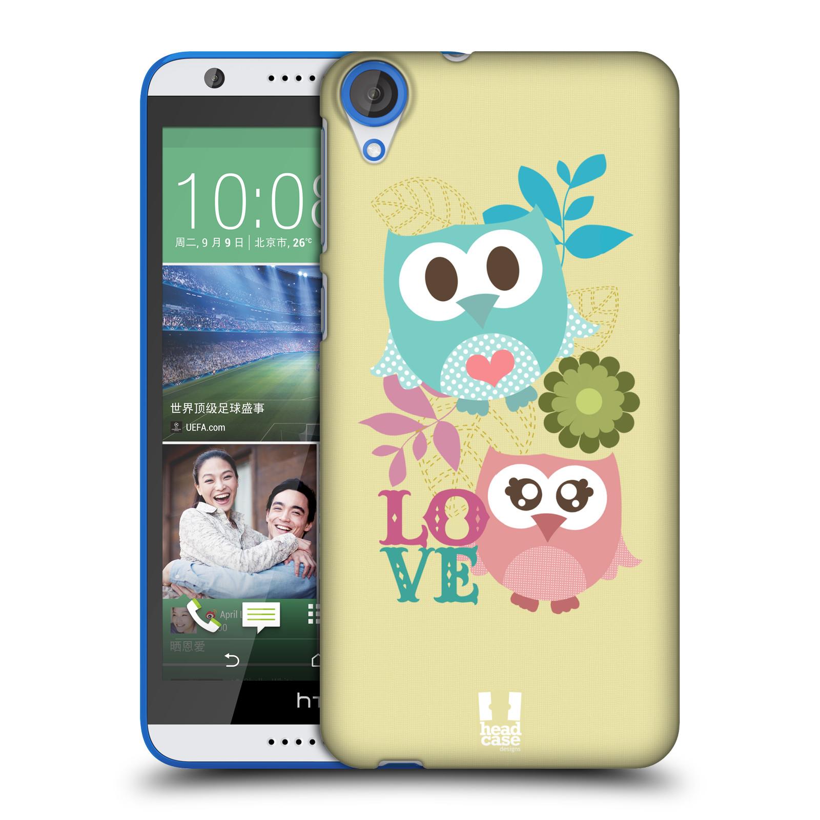 Plastové pouzdro na mobil HTC Desire 820 HEAD CASE SOVIČKY LOVE (Kryt či obal na mobilní telefon HTC Desire 820)