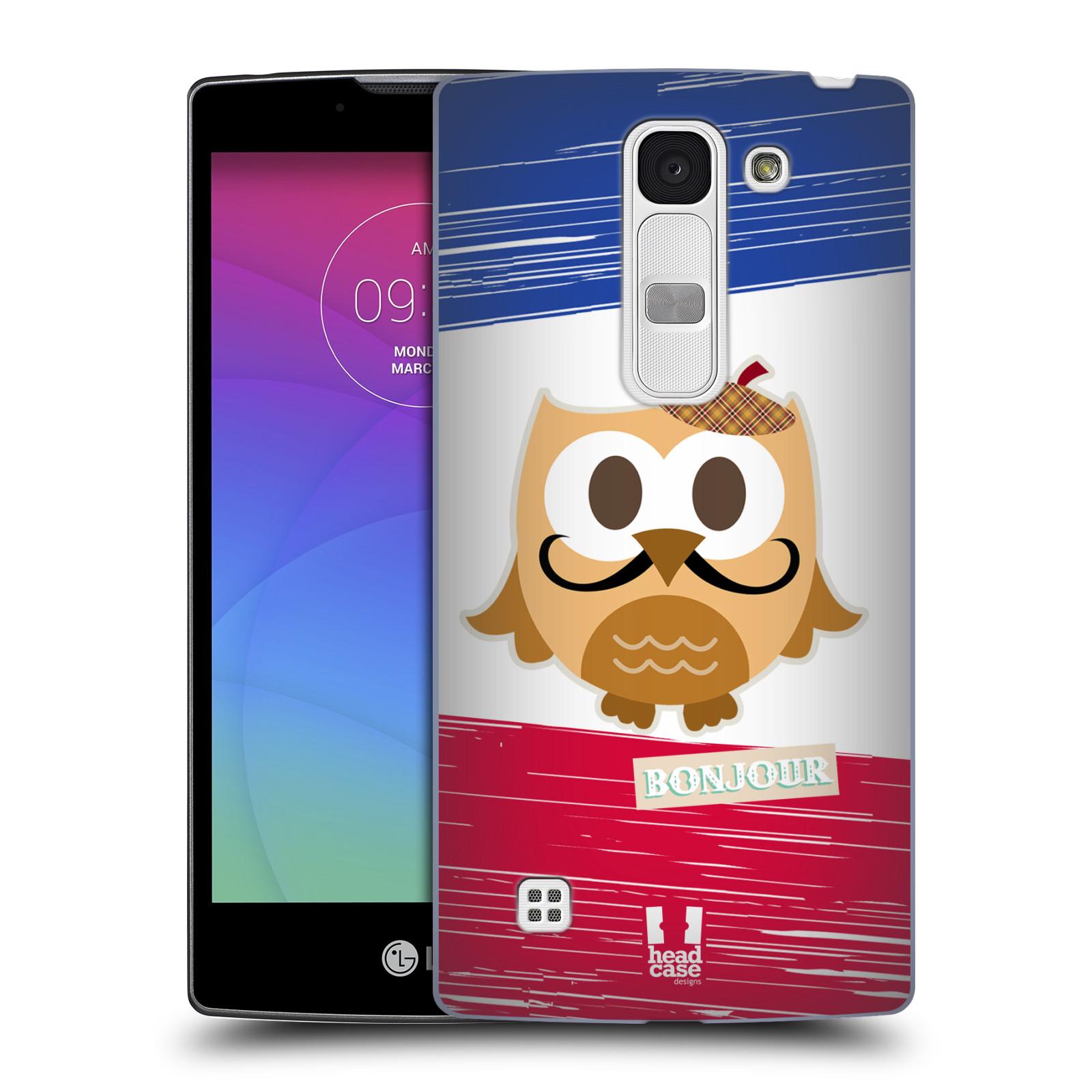 Plastové pouzdro na mobil LG Spirit LTE HEAD CASE SOVIČKA BONJOUR (Kryt či obal na mobilní telefon LG Spirit H420 a LG Spirit LTE H440N)
