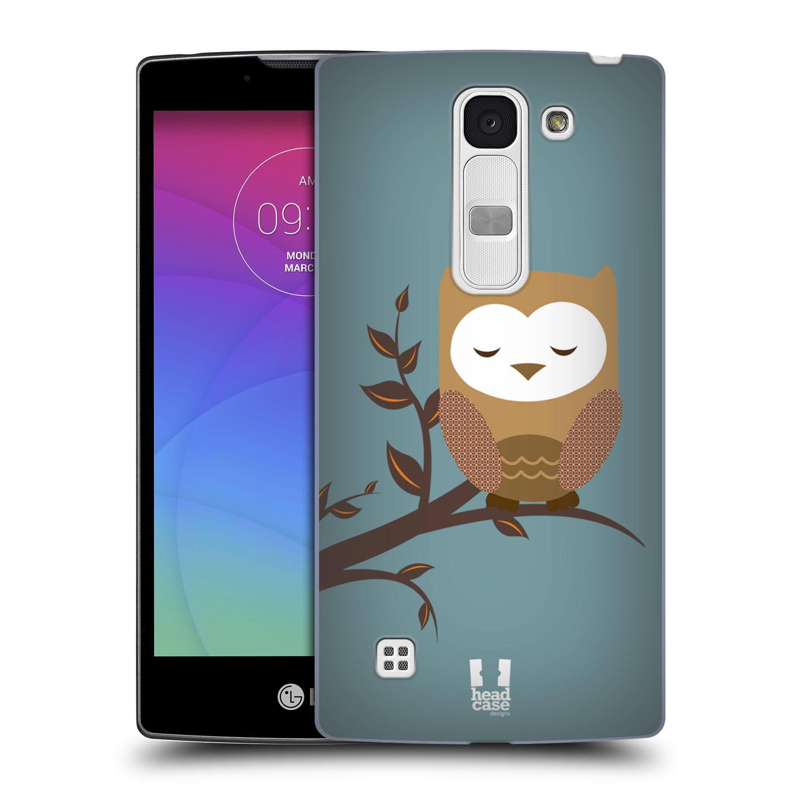 Plastové pouzdro na mobil LG Spirit LTE HEAD CASE SOVIČKA SPÍCÍ (Kryt či obal na mobilní telefon LG Spirit H420 a LG Spirit LTE H440N)
