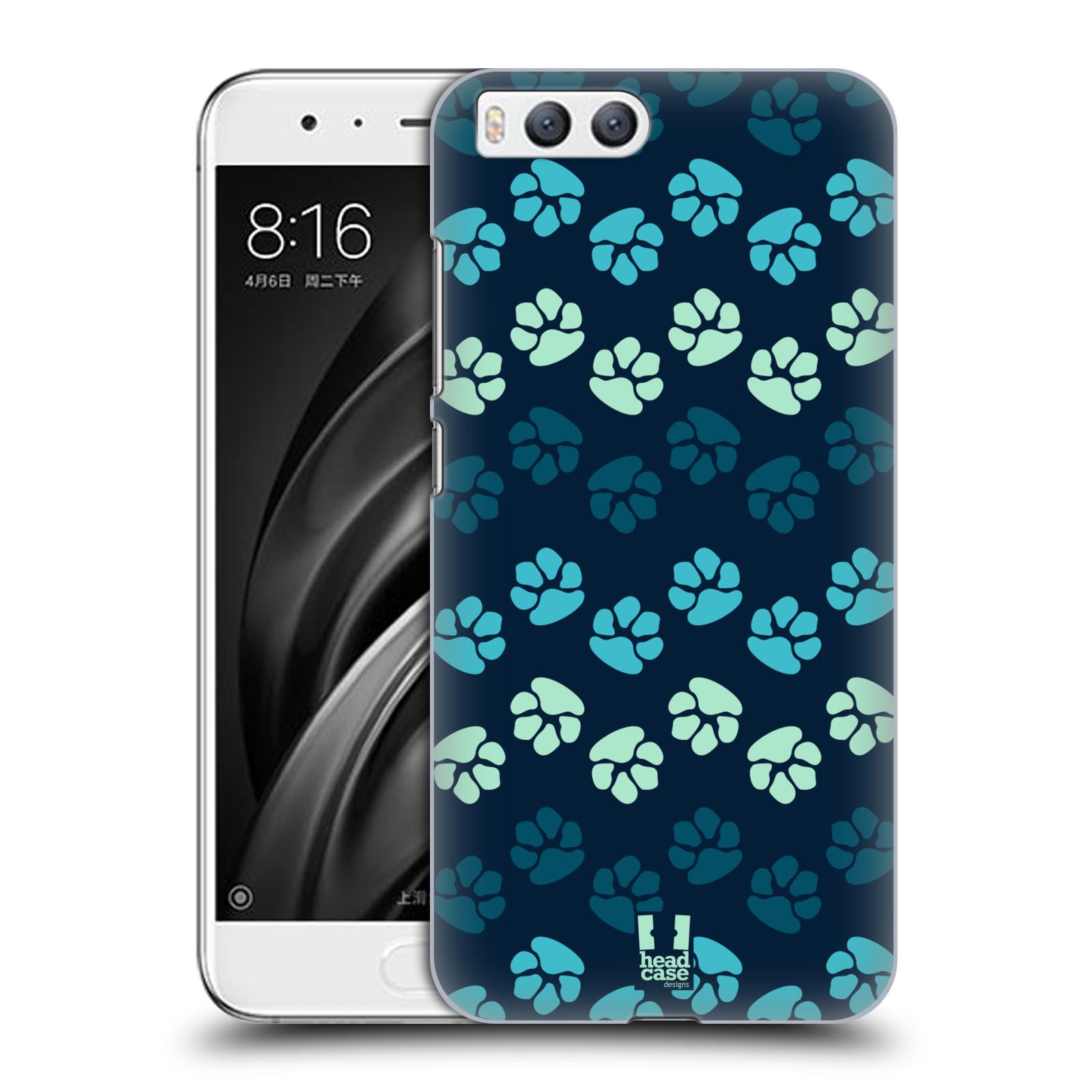 Plastové pouzdro na mobil Xiaomi Mi6 - Head Case - TLAPKY MODRÉ (Plastový kryt či obal na mobilní telefon Xiaomi Mi6 s motivem TLAPKY MODRÉ)