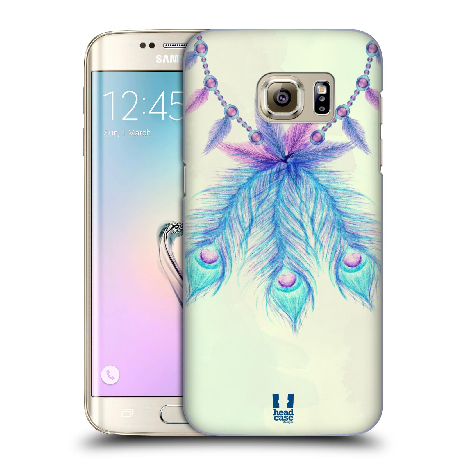Plastové pouzdro na mobil Samsung Galaxy S7 Edge HEAD CASE PÍRKA LUCKY (Kryt či obal na mobilní telefon Samsung Galaxy S7 Edge SM-G935F)