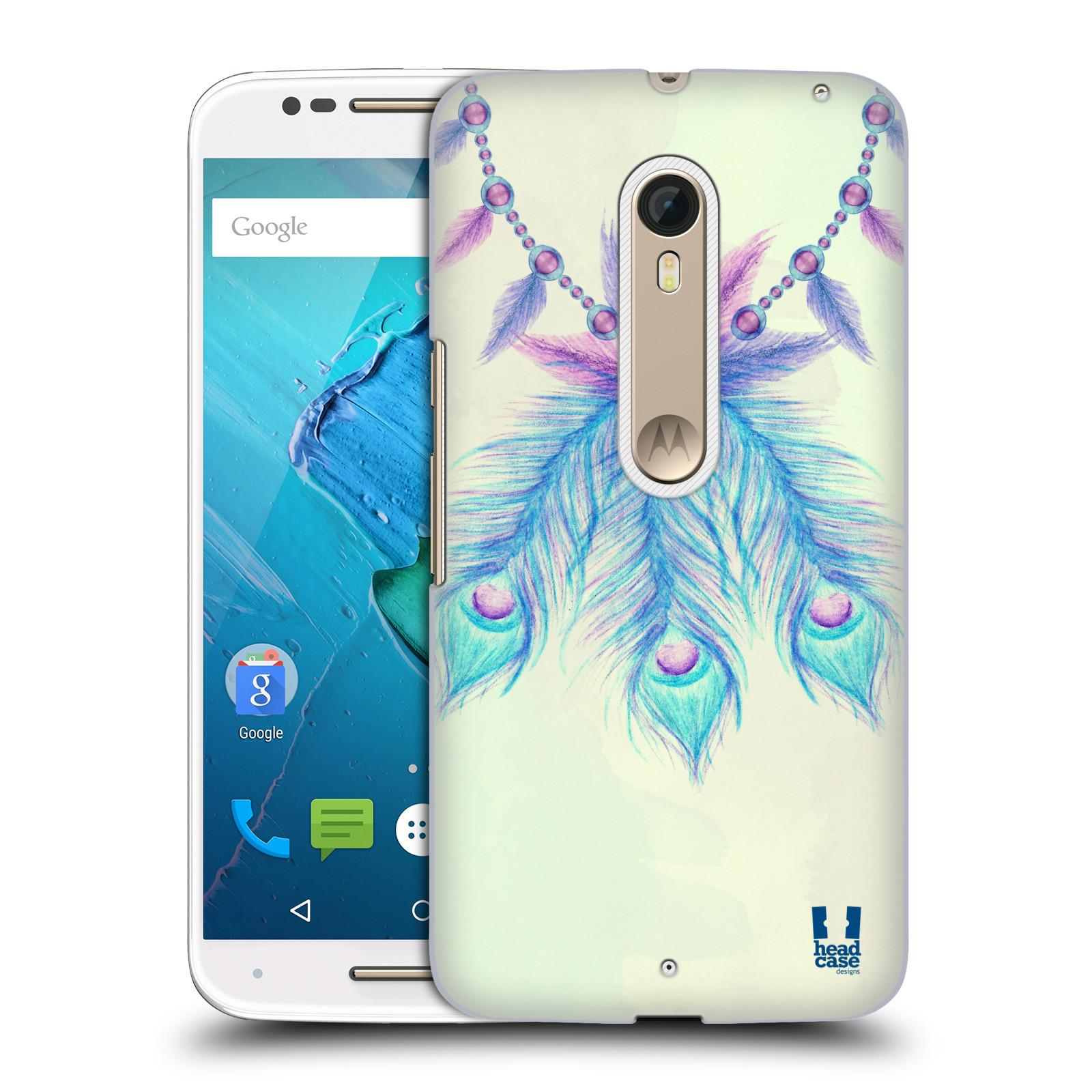 Plastové pouzdro na mobil Motorola Moto X Style HEAD CASE PÍRKA LUCKY (Plastový kryt či obal na mobilní telefon Motorola Moto X Style)