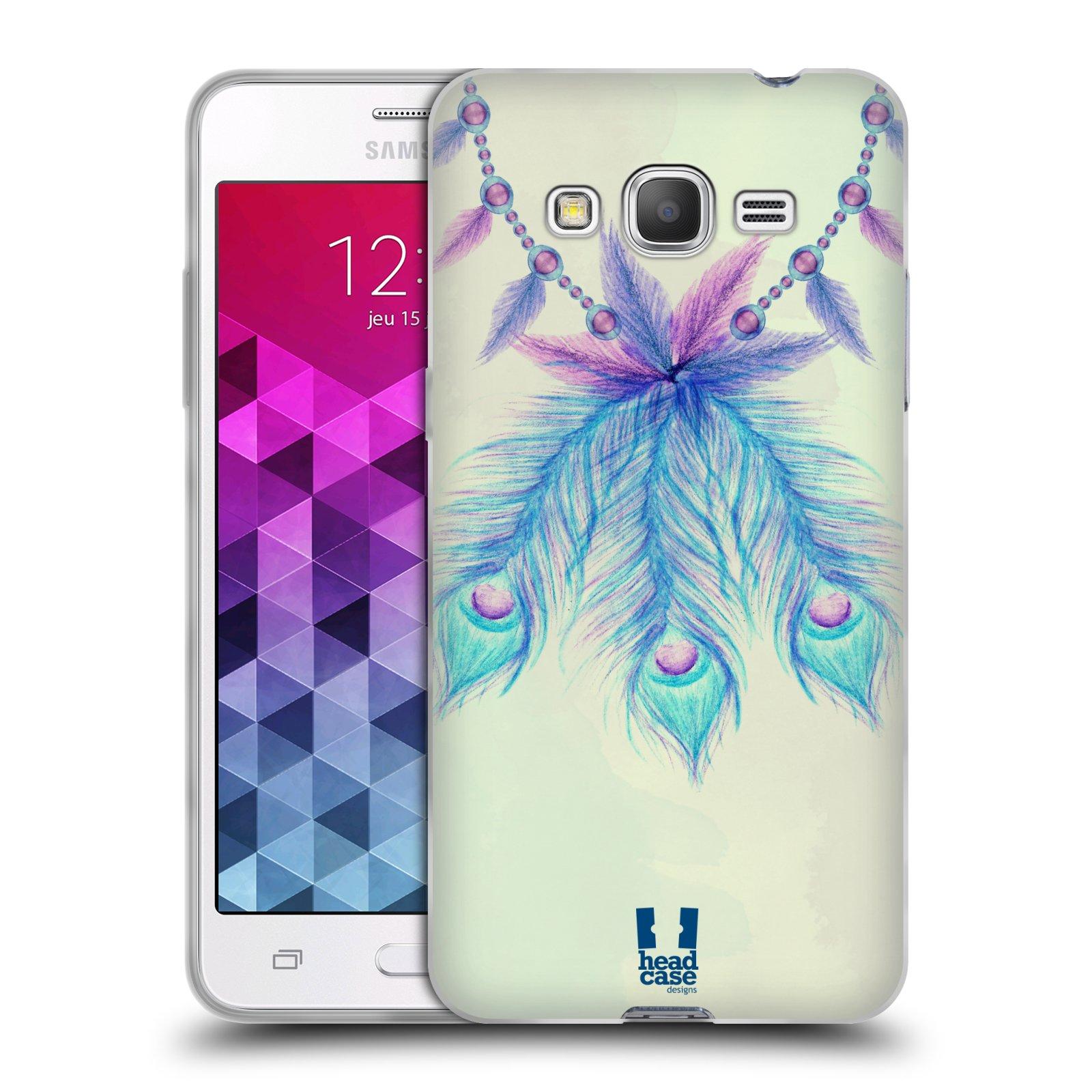 Silikonové pouzdro na mobil Samsung Galaxy Grand Prime VE HEAD CASE PÍRKA LUCKY