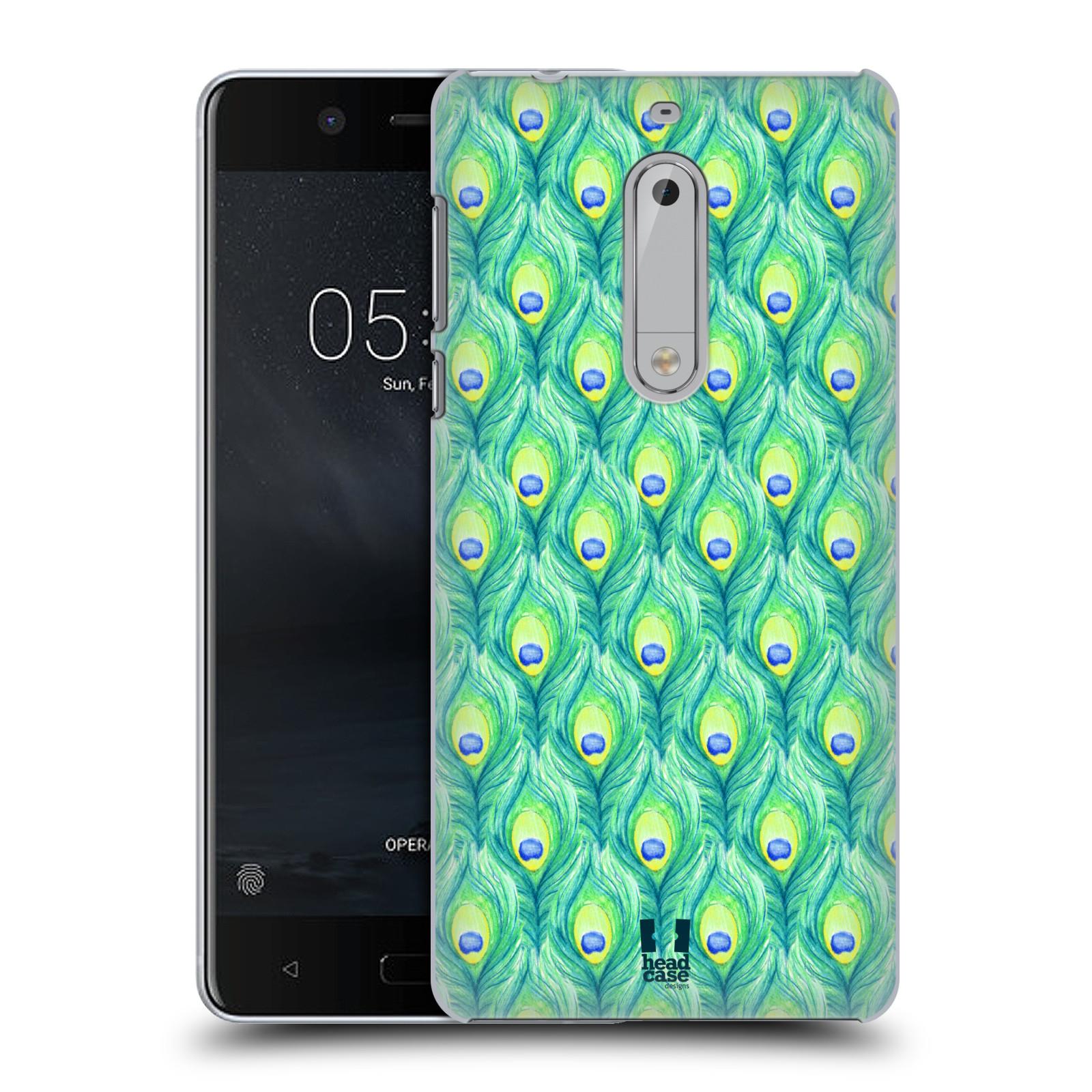 Plastové pouzdro na mobil Nokia 5 Head Case - PÍRKA PATTERN (Plastový kryt či obal na mobilní telefon Nokia 5 (2017))