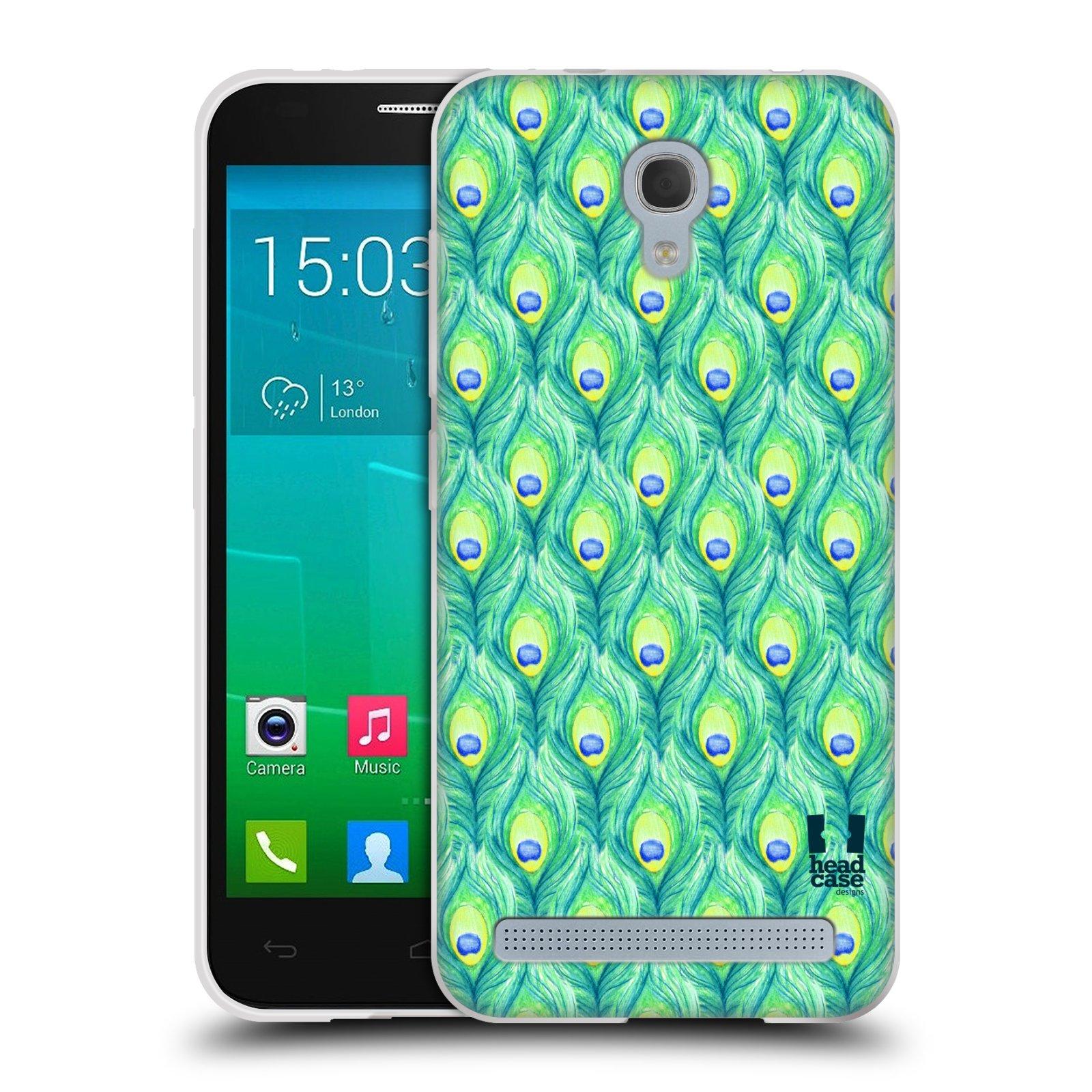 Silikonové pouzdro na mobil Alcatel One Touch Idol 2 Mini S 6036Y HEAD CASE PÍRKA PATTERN