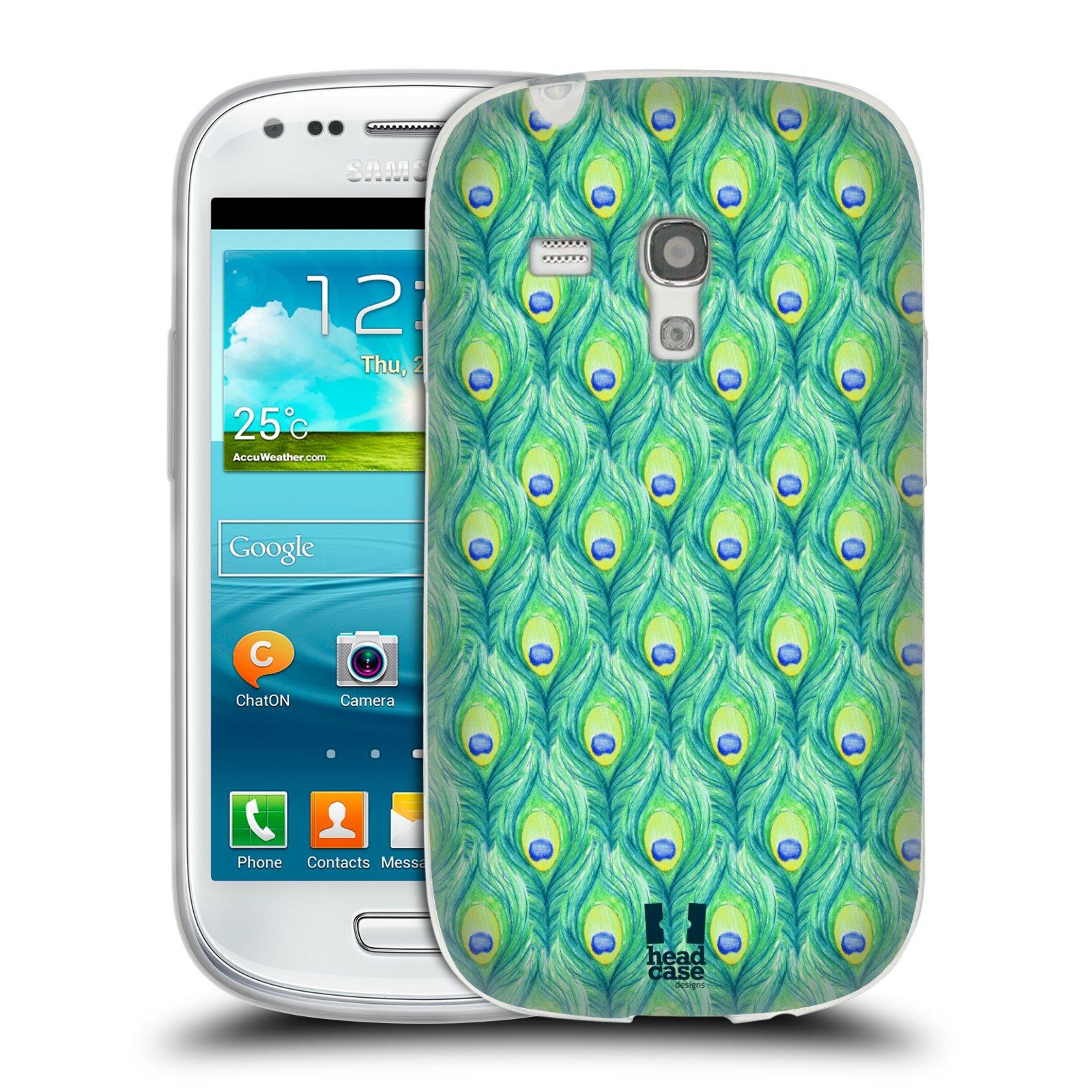 Silikonové pouzdro na mobil Samsung Galaxy S III Mini HEAD CASE PÍRKA PATTERN (Silikonový kryt či obal na mobilní telefon Samsung Galaxy S III Mini GT-i8190)