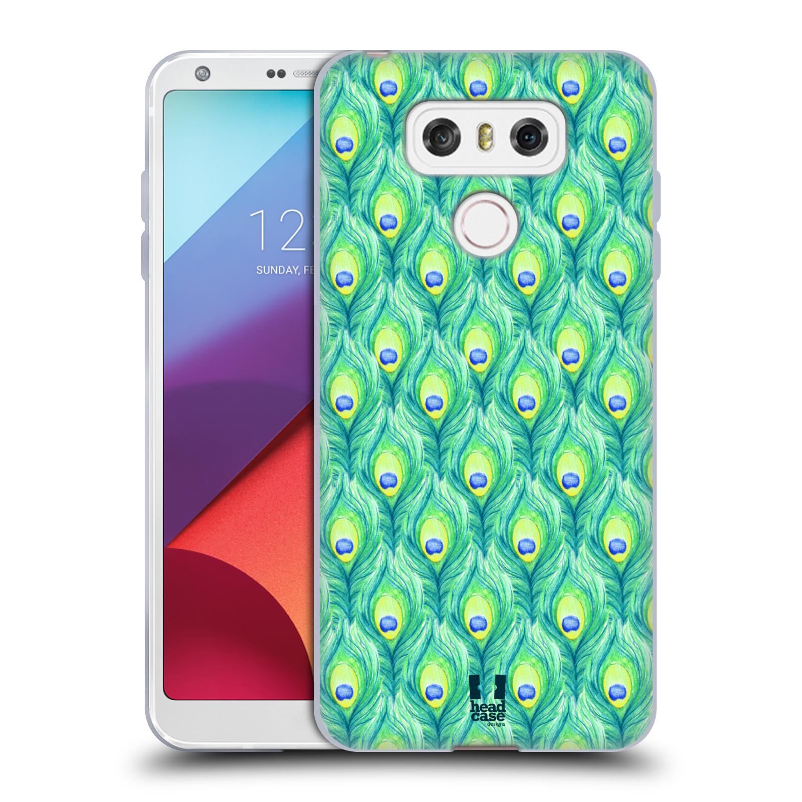 Silikonové pouzdro na mobil LG G6 - Head Case PÍRKA PATTERN (Silikonový kryt či obal na mobilní telefon LG G6 H870 / LG G6 Dual SIM H870DS)