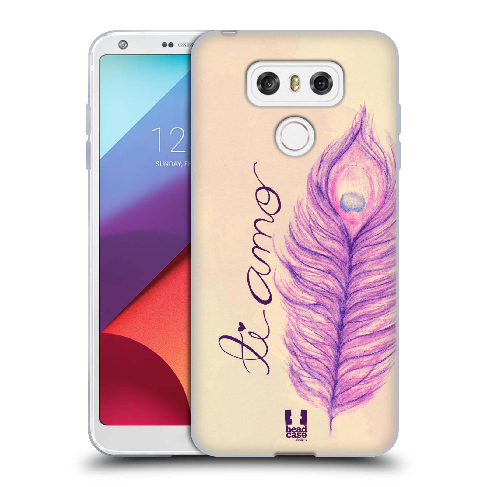Silikonové pouzdro na mobil LG G6 - Head Case PÍRKA TI AMO (Silikonový kryt či obal na mobilní telefon LG G6 H870 / LG G6 Dual SIM H870DS)