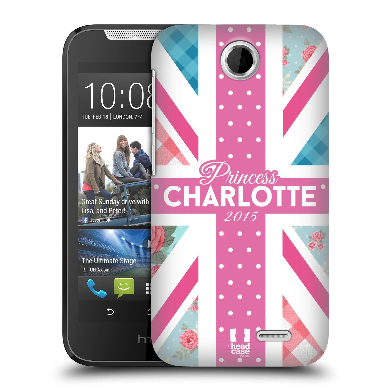 Plastové pouzdro na mobil HTC Desire 310 HEAD CASE PRINCEZNIČKA CHARLOTTE (Kryt či obal na mobilní telefon HTC Desire 310)