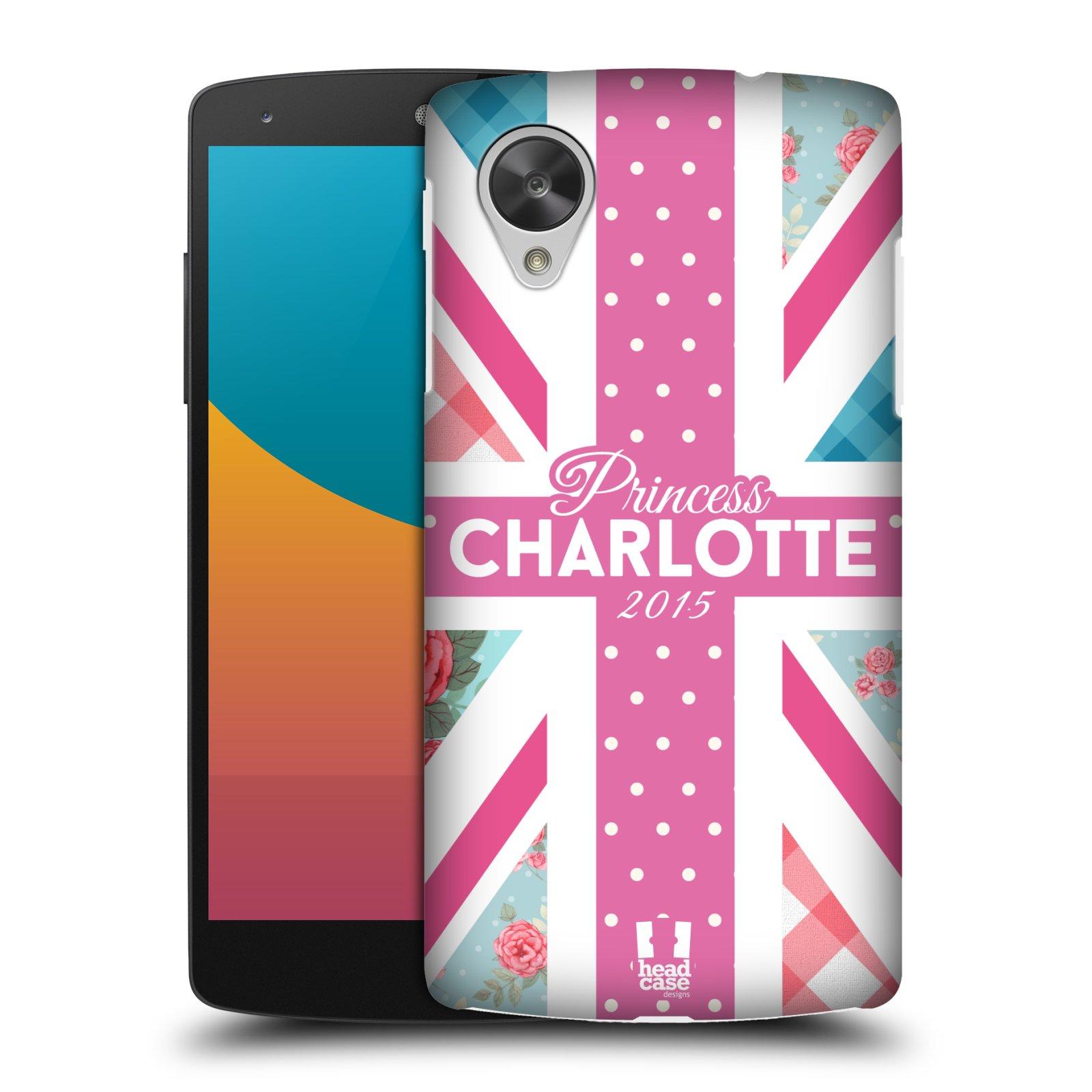 Plastové pouzdro na mobil LG Nexus 5 HEAD CASE PRINCEZNIČKA CHARLOTTE (Kryt či obal na mobilní telefon LG Google Nexus 5 D821)