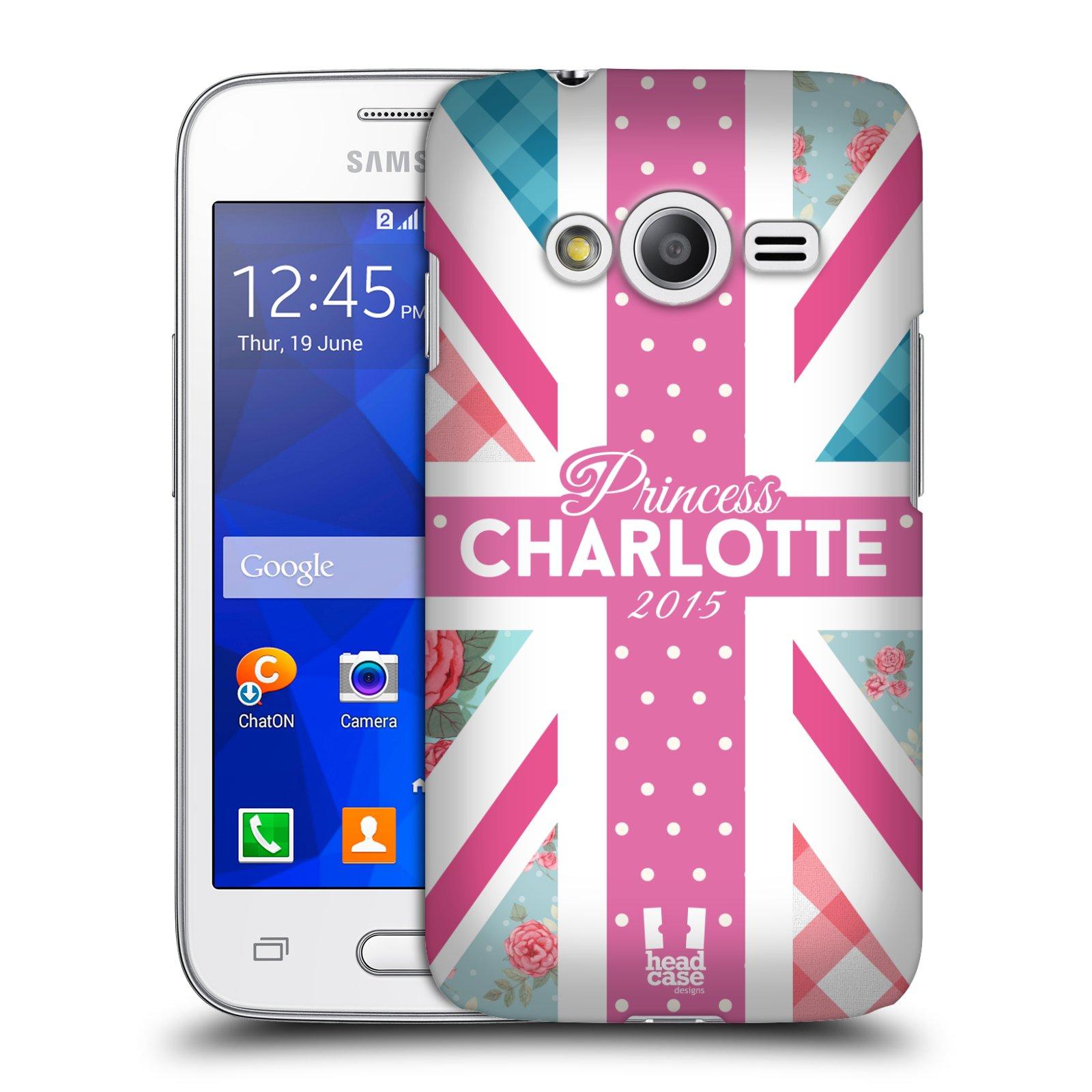 Plastové pouzdro na mobil Samsung Galaxy Trend 2 Lite HEAD CASE PRINCEZNIČKA CHARLOTTE (Kryt či obal na mobilní telefon Samsung Galaxy Trend 2 Lite SM-G318)