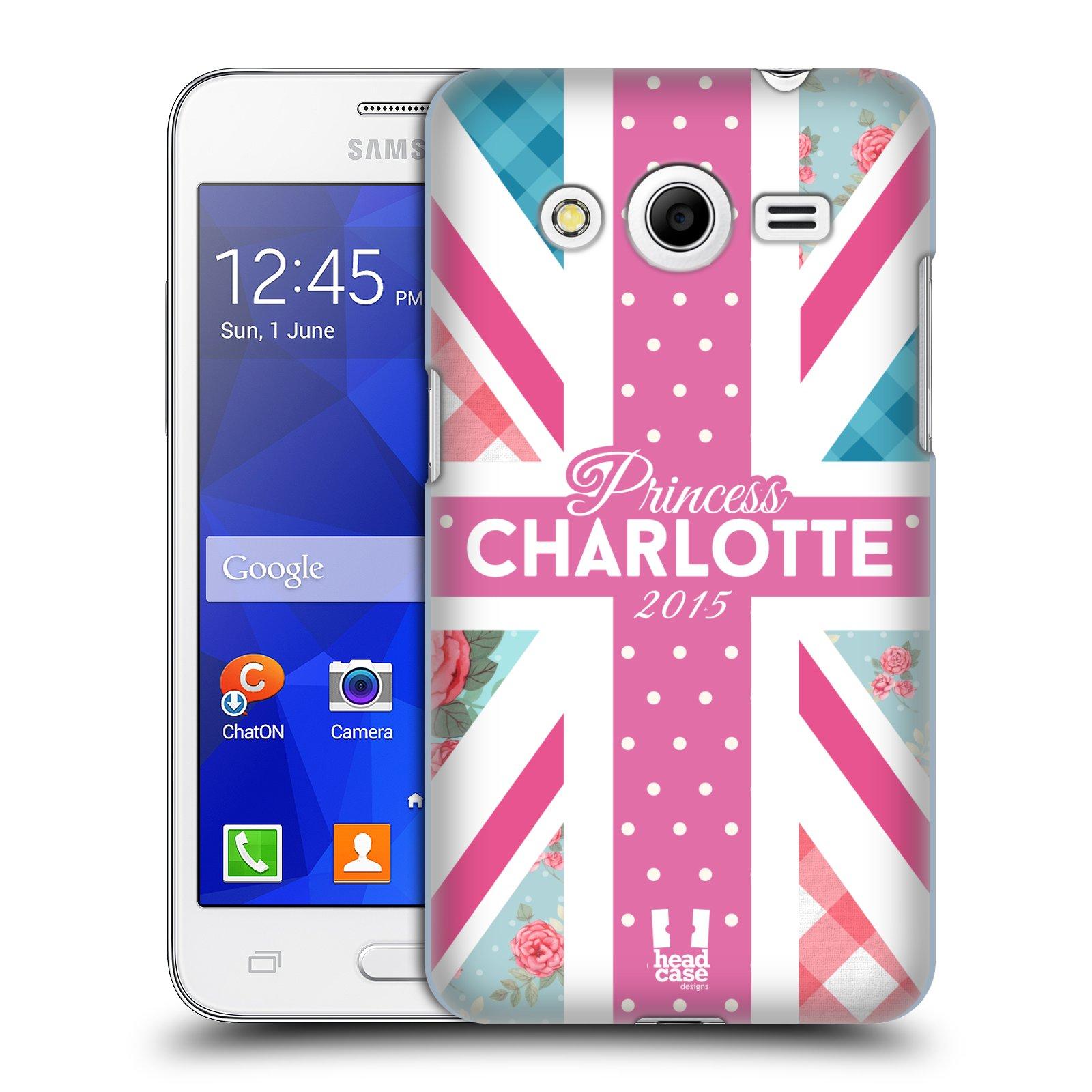 Plastové pouzdro na mobil Samsung Galaxy Core 2 HEAD CASE PRINCEZNIČKA CHARLOTTE (Kryt či obal na mobilní telefon Samsung Galaxy Core 2 SM-G355H)