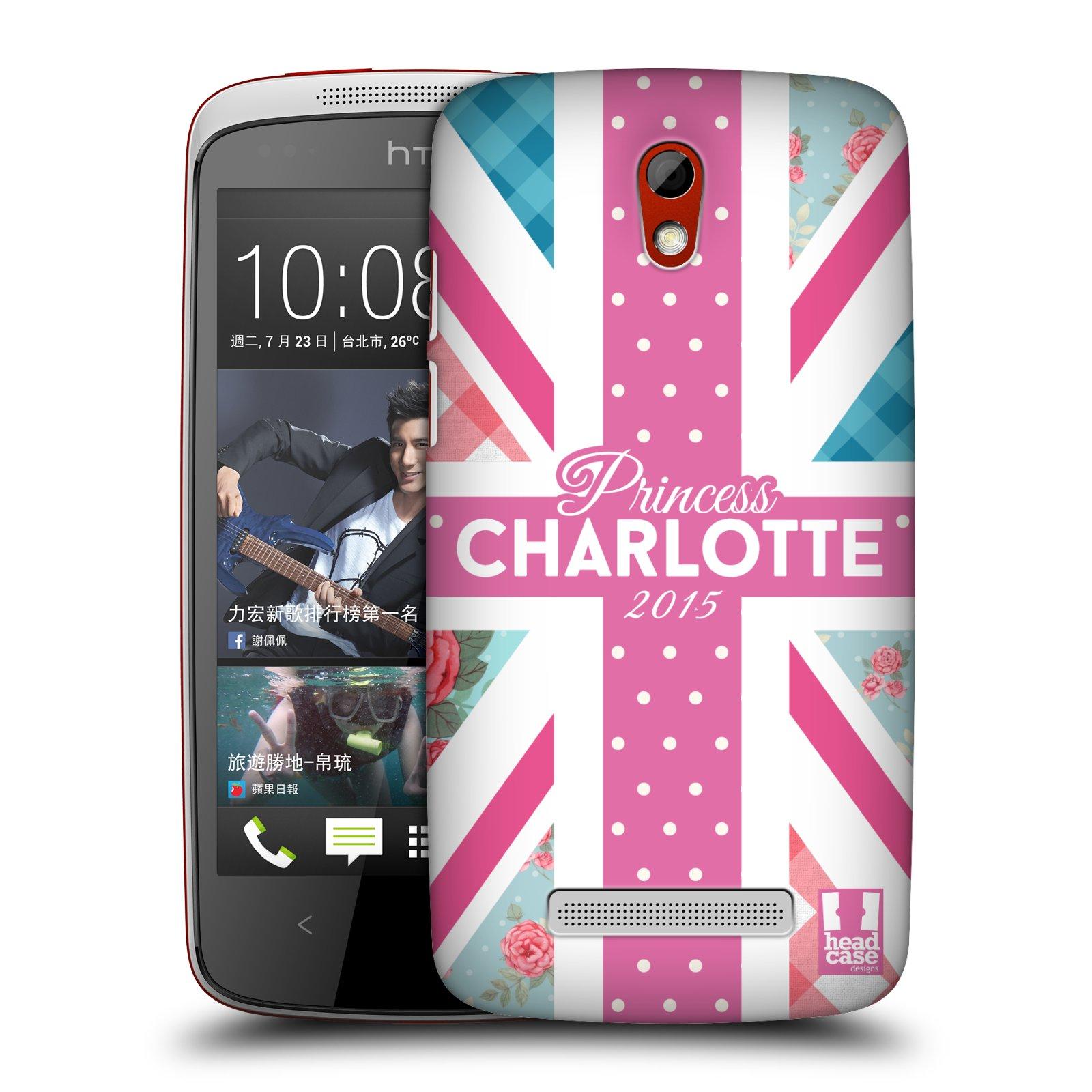 Plastové pouzdro na mobil HTC Desire 500 HEAD CASE PRINCEZNIČKA CHARLOTTE (Kryt či obal na mobilní telefon HTC Desire 500)